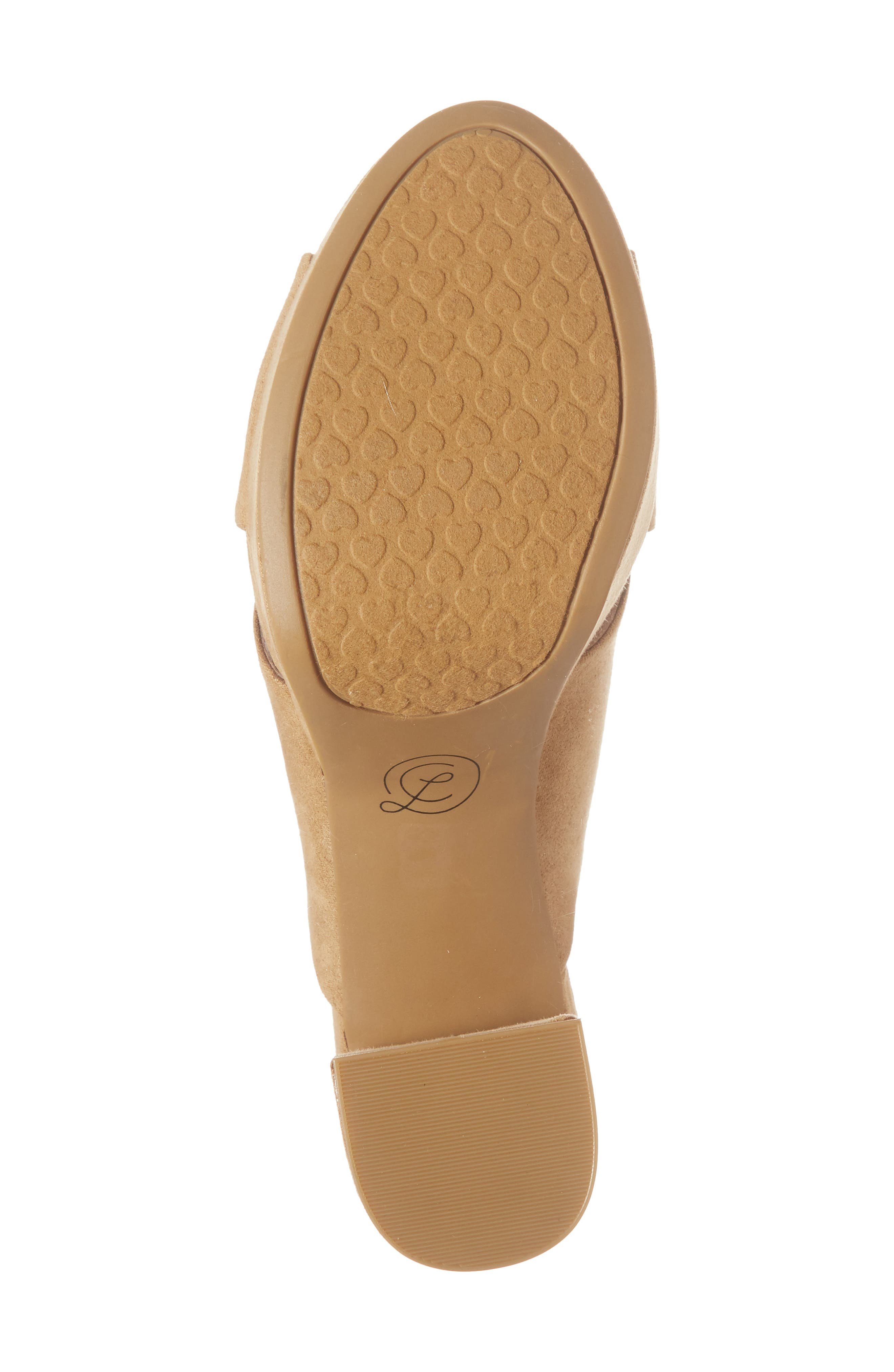 Teagan Cross Strap Platform Sandal,                             Alternate thumbnail 6, color,                             Camel