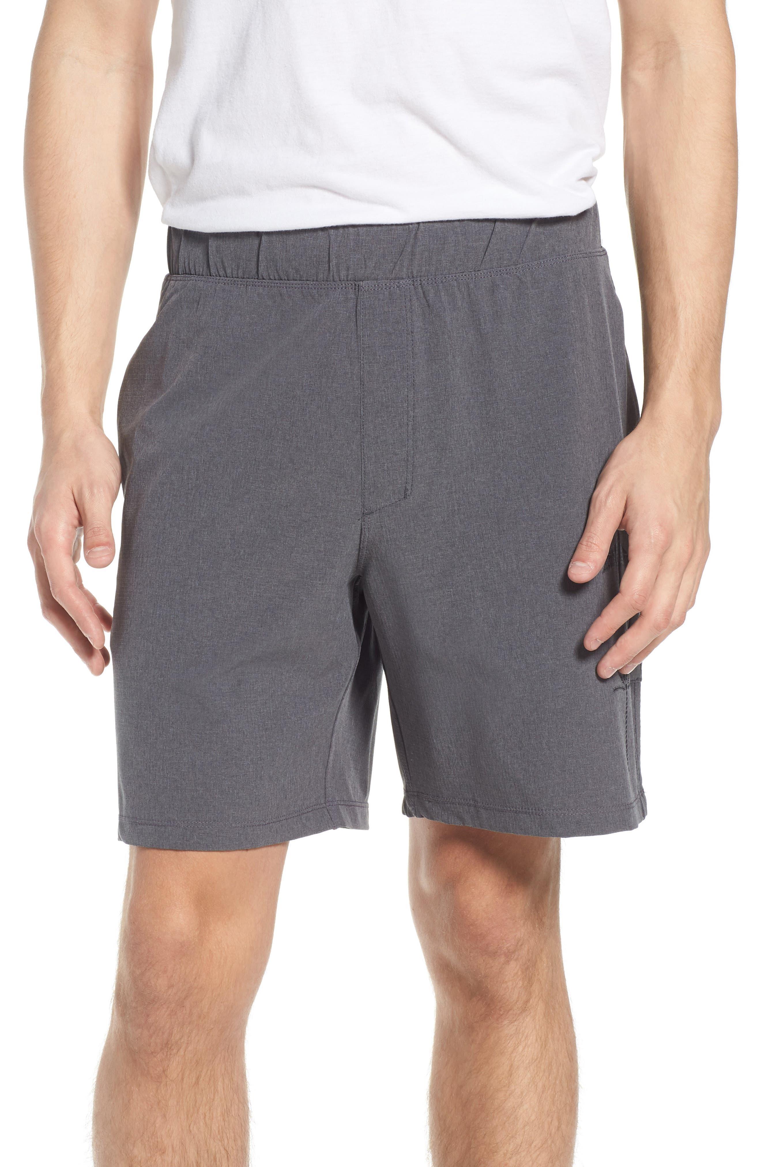 Alpha Trainer K-38 Shorts,                             Main thumbnail 1, color,                             Black
