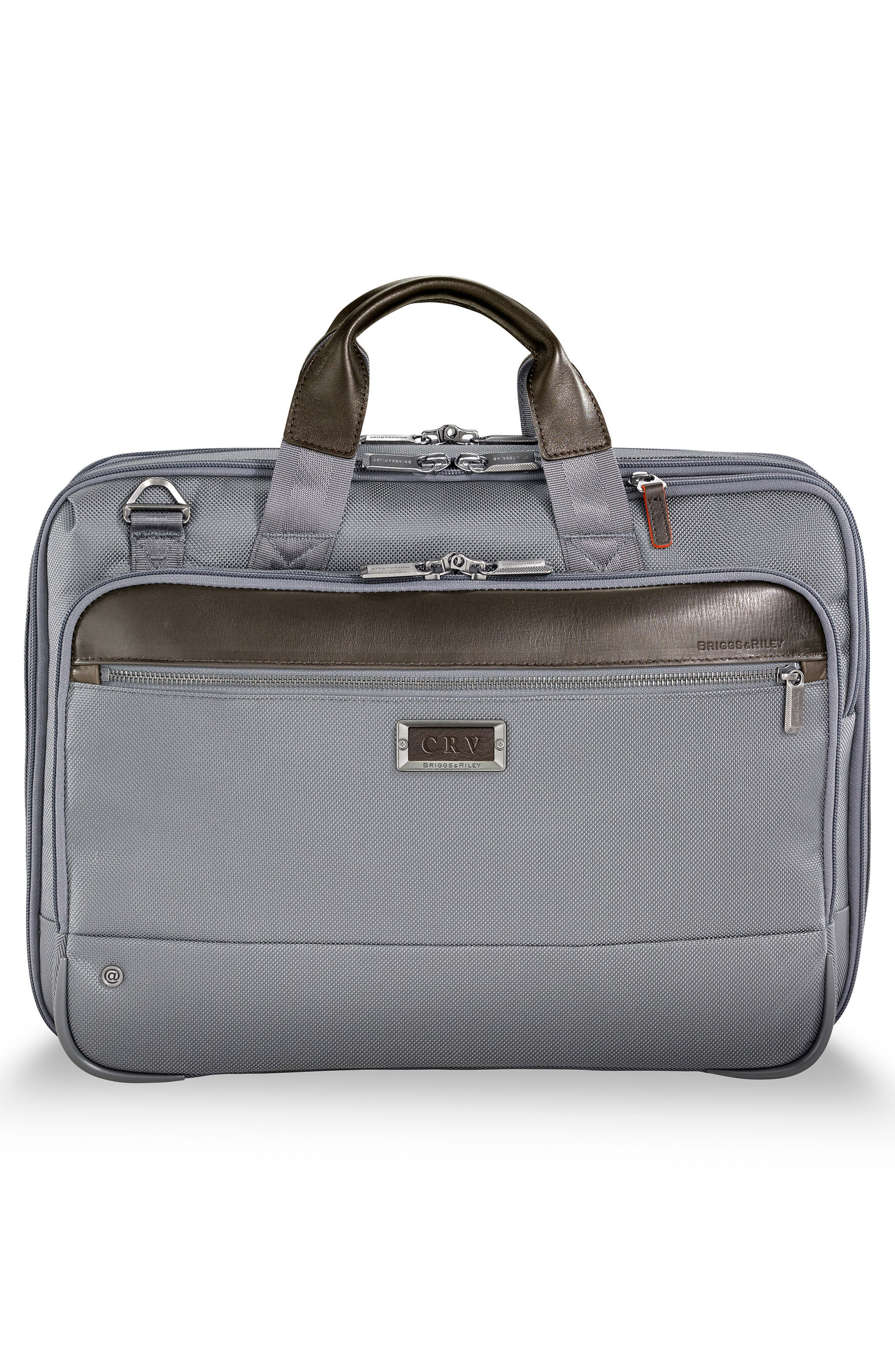 @work Expandable Briefcase,                             Alternate thumbnail 2, color,                             Grey