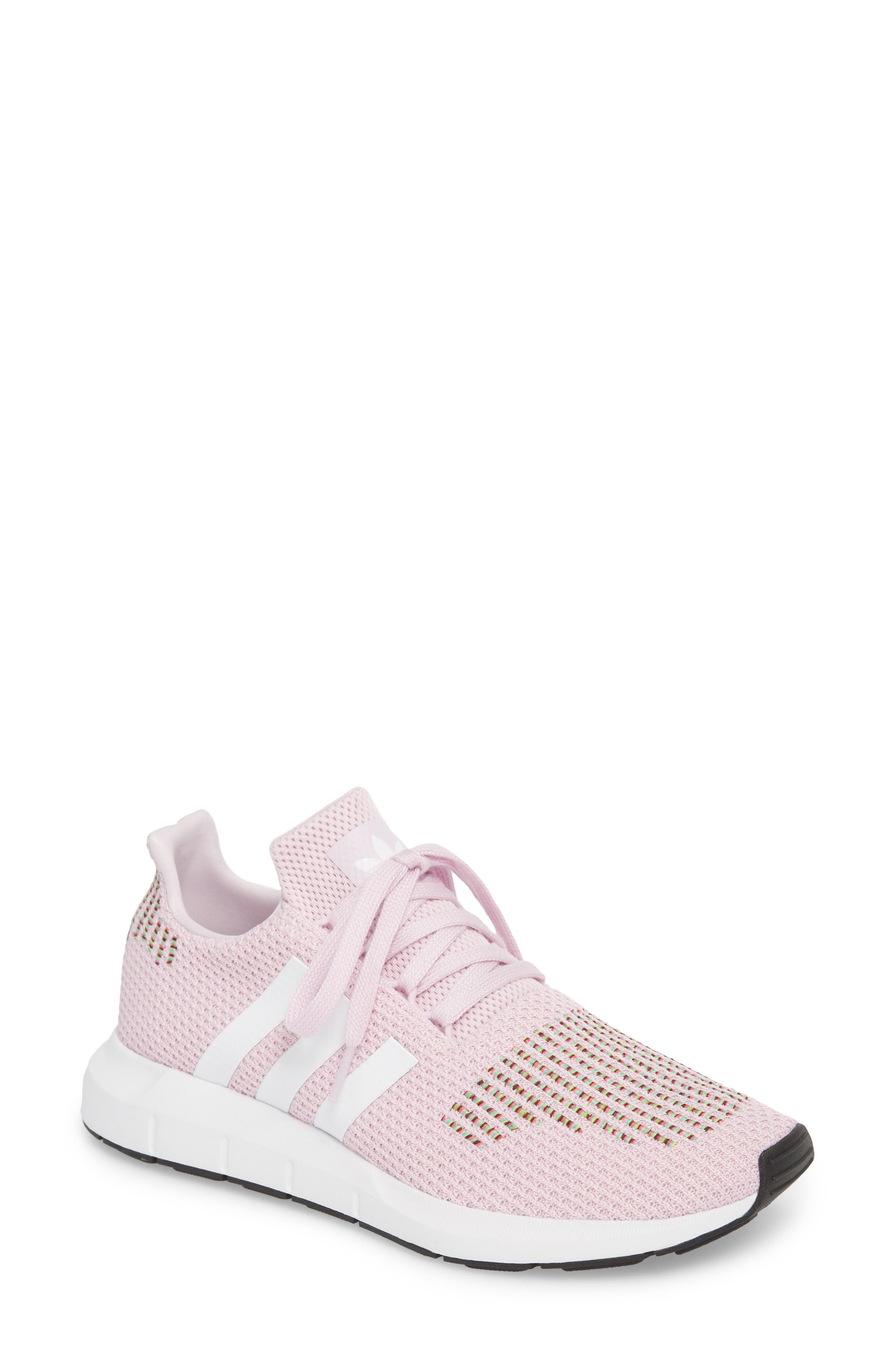 Swift Run Sneaker,                         Main,                         color, Aero Pink/ White/ Core Black