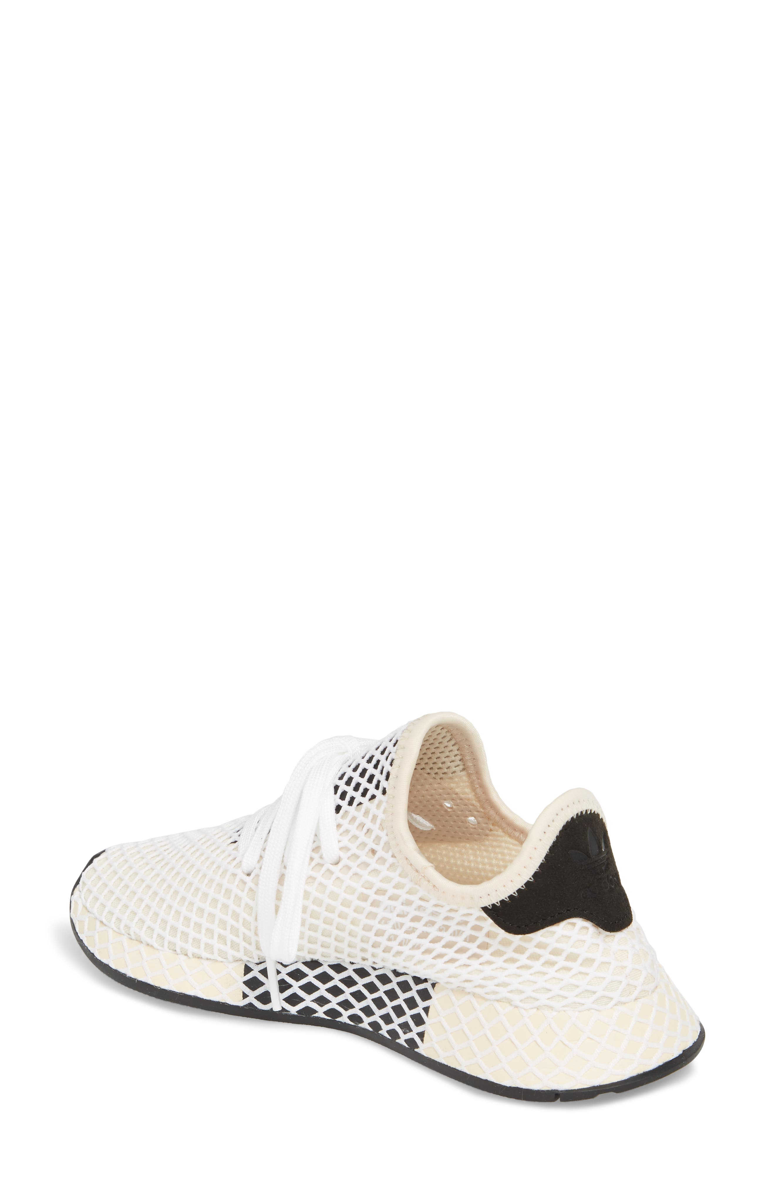 Deerupt Runner Sneaker,                             Alternate thumbnail 2, color,                             Linen/ Linen/ Ecru Tint