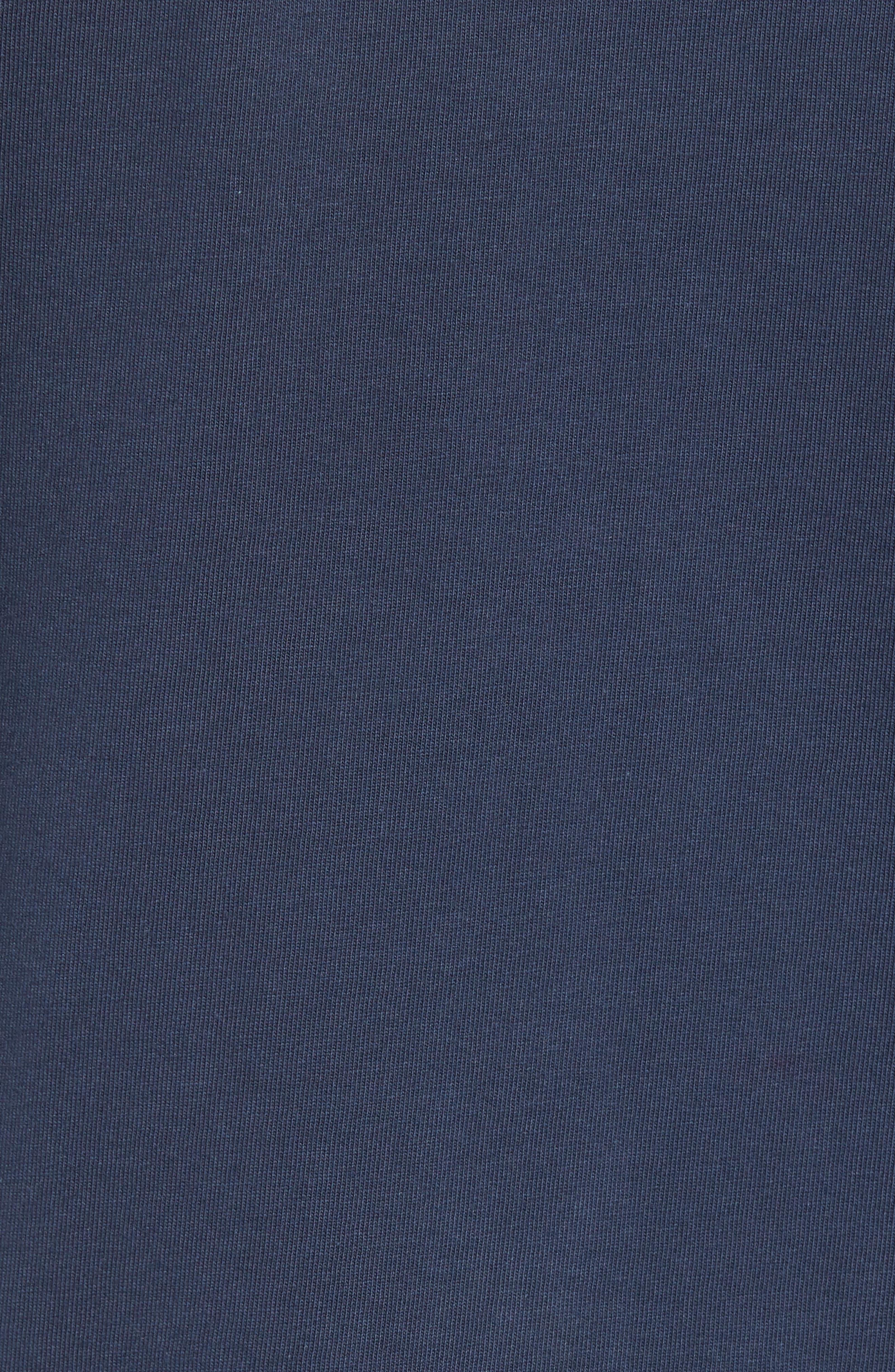 x Shark Week<sup>™</sup> Logo Long Sleeve Pocket T-Shirt,                             Alternate thumbnail 5, color,                             Vineyard Navy