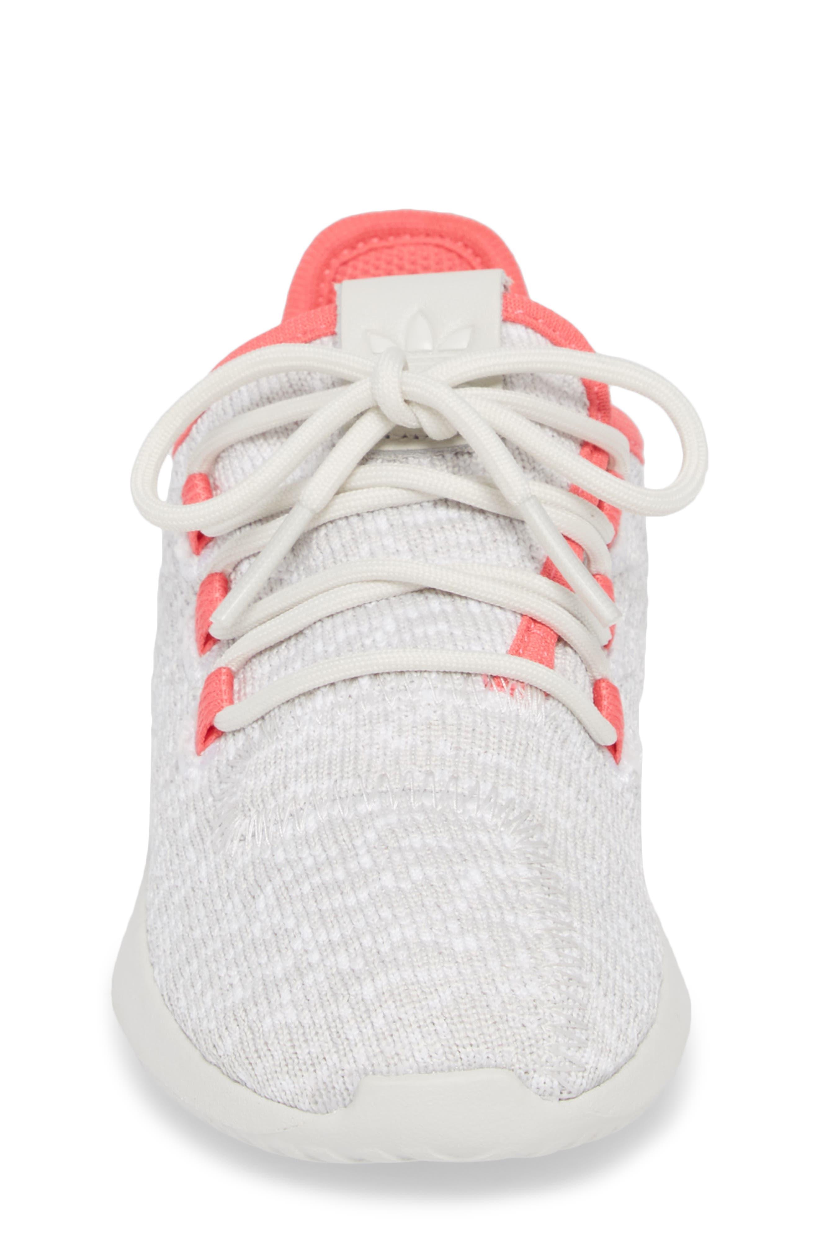 Tubular Shadow Sneaker,                             Alternate thumbnail 4, color,                             Grey/ Ash Pink/ White