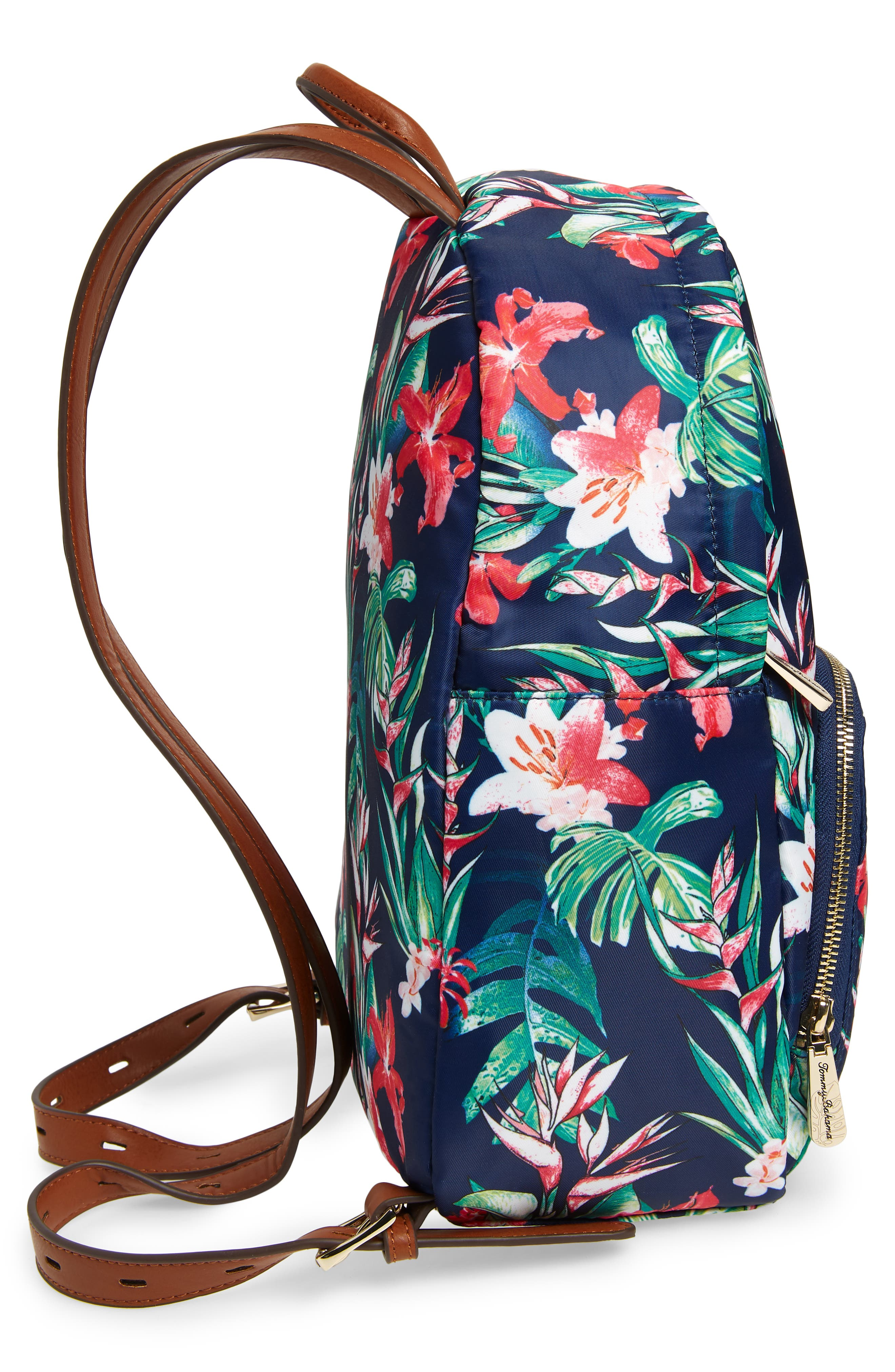 Siesta Key Backpack,                             Alternate thumbnail 4, color,                             Tropical Lily
