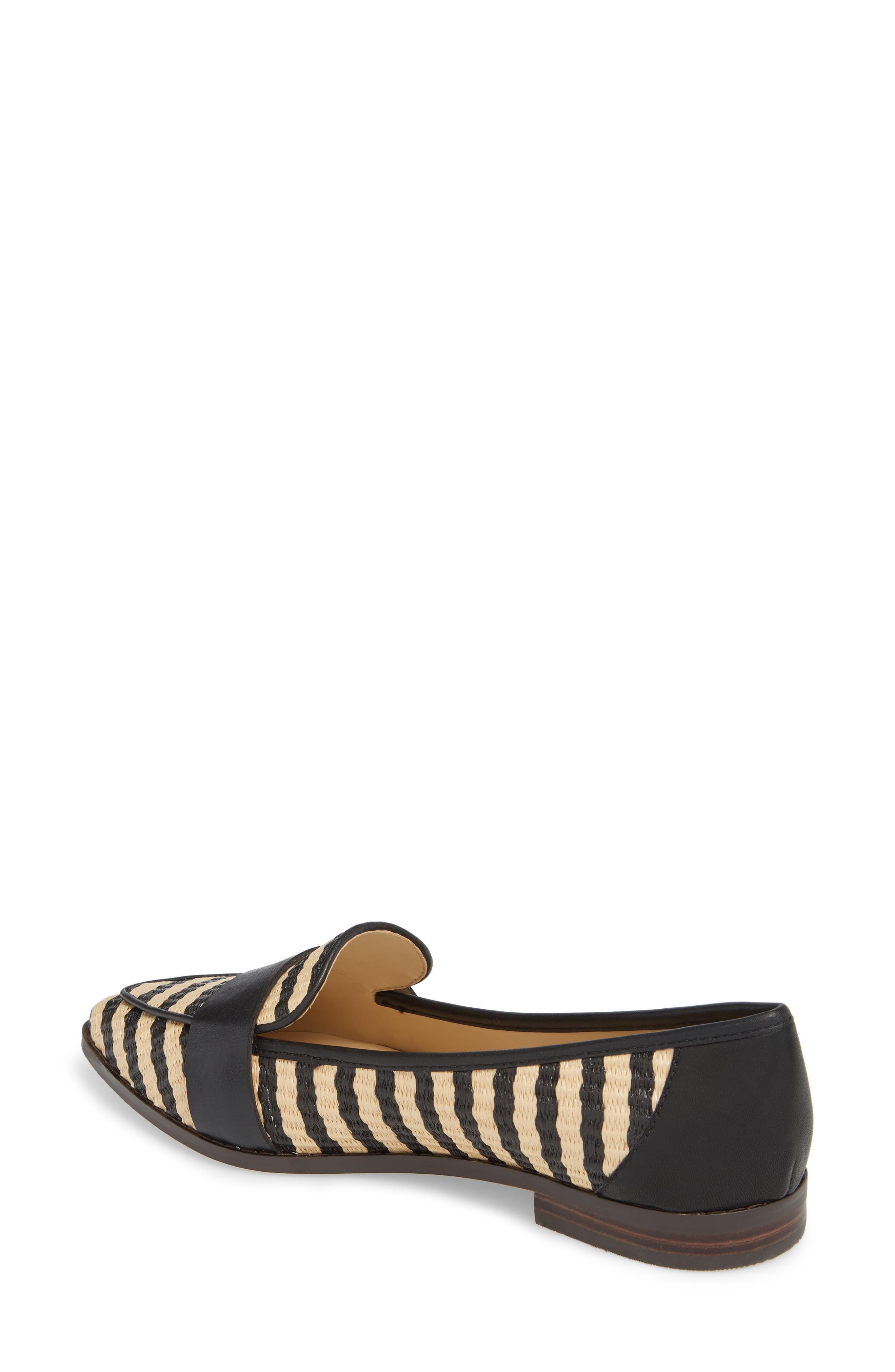 Edie Loafer,                             Alternate thumbnail 2, color,                             Natural/ Black