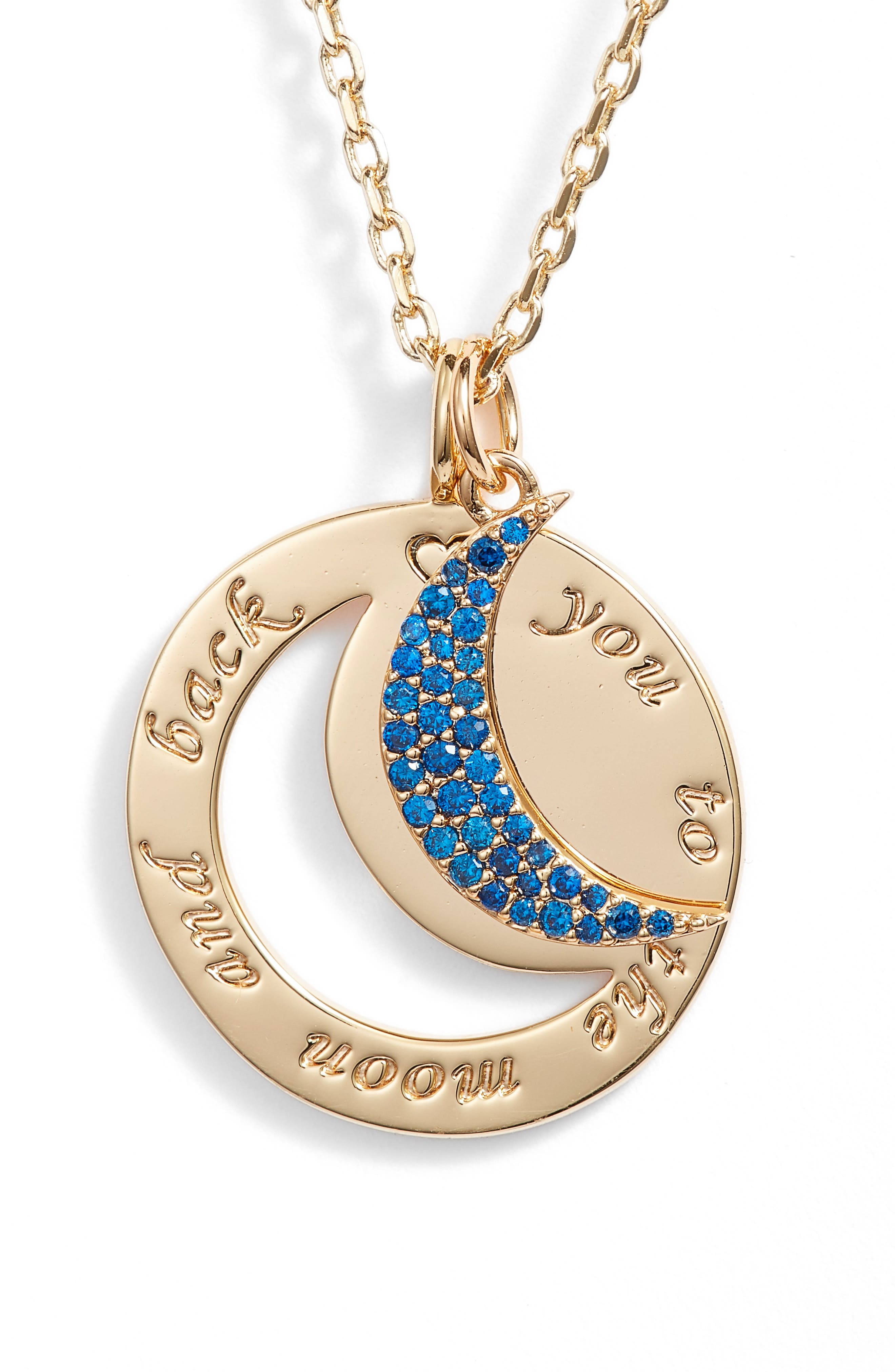 Lulu DK To the Moon & Back Necklace