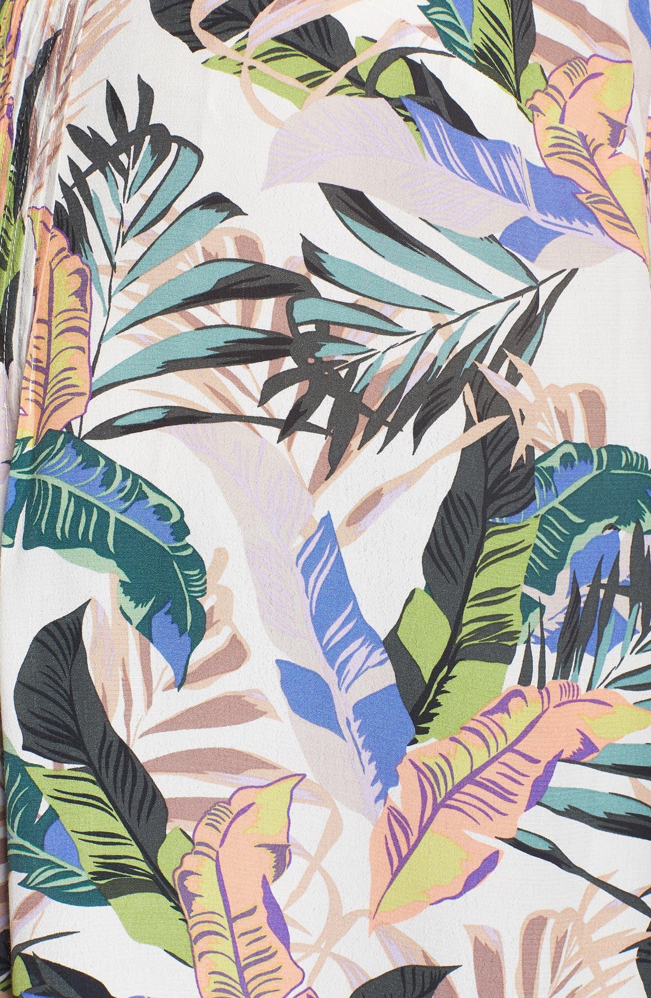Palma Print Tank,                             Alternate thumbnail 6, color,                             Tropics