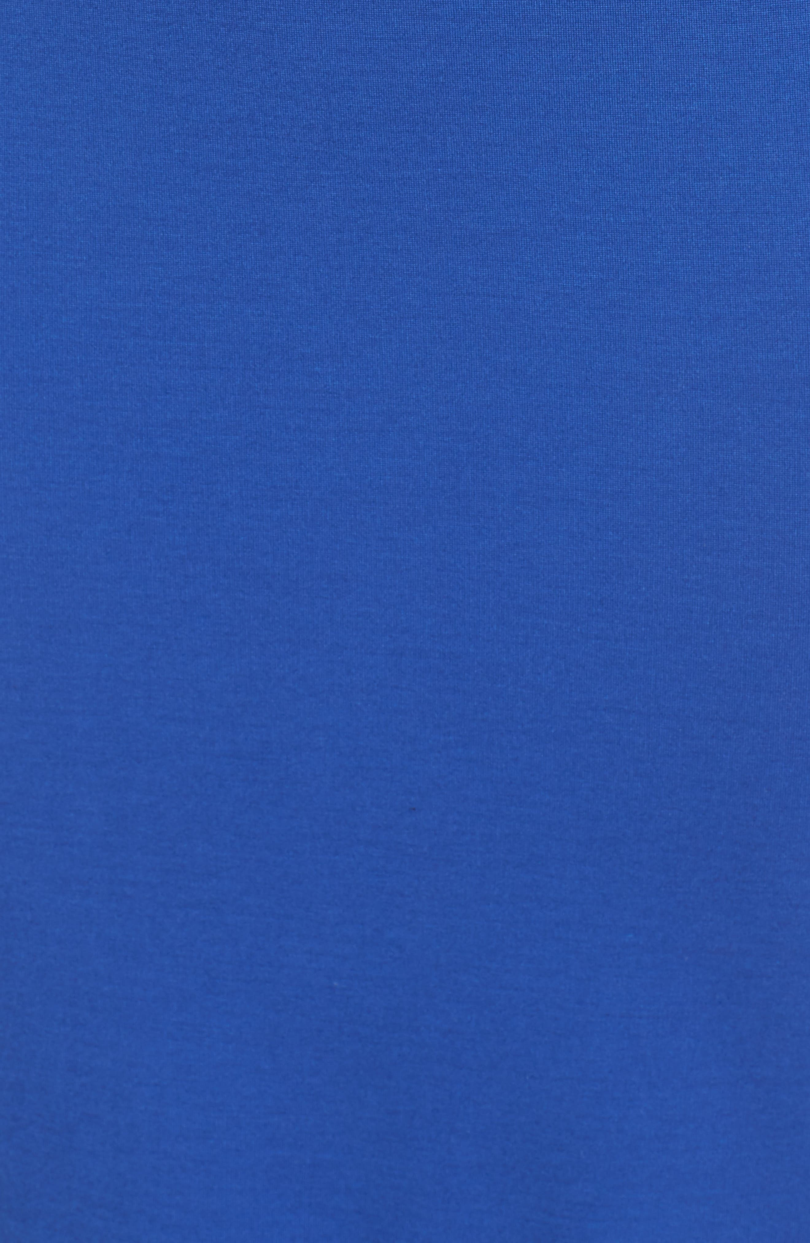 Viola Asymmetrical Dress,                             Alternate thumbnail 6, color,                             Cobalt