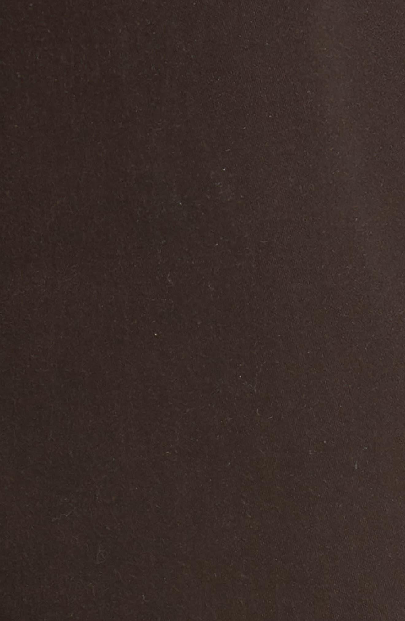 Tellis SUD Modern Slim Stretch Twill Pants,                             Alternate thumbnail 5, color,                             Shutter Brown