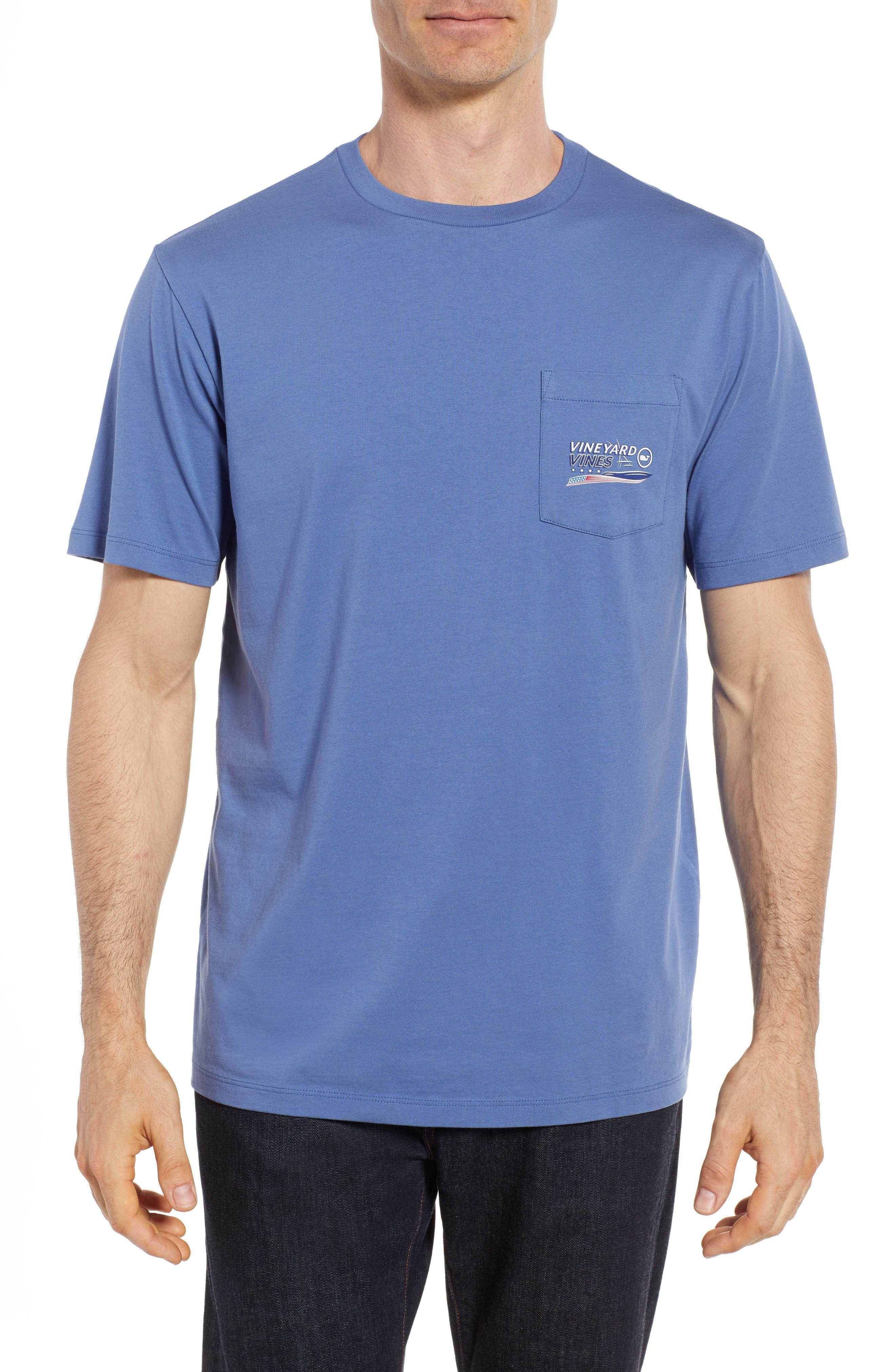American Sportfisher T-Shirt,                             Main thumbnail 1, color,                             Moonshine