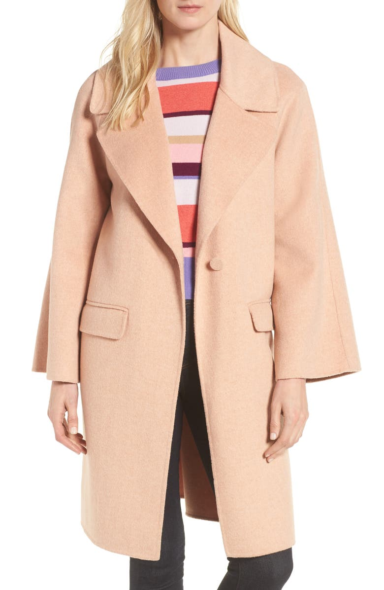 Bell Sleeve Double Face Coat