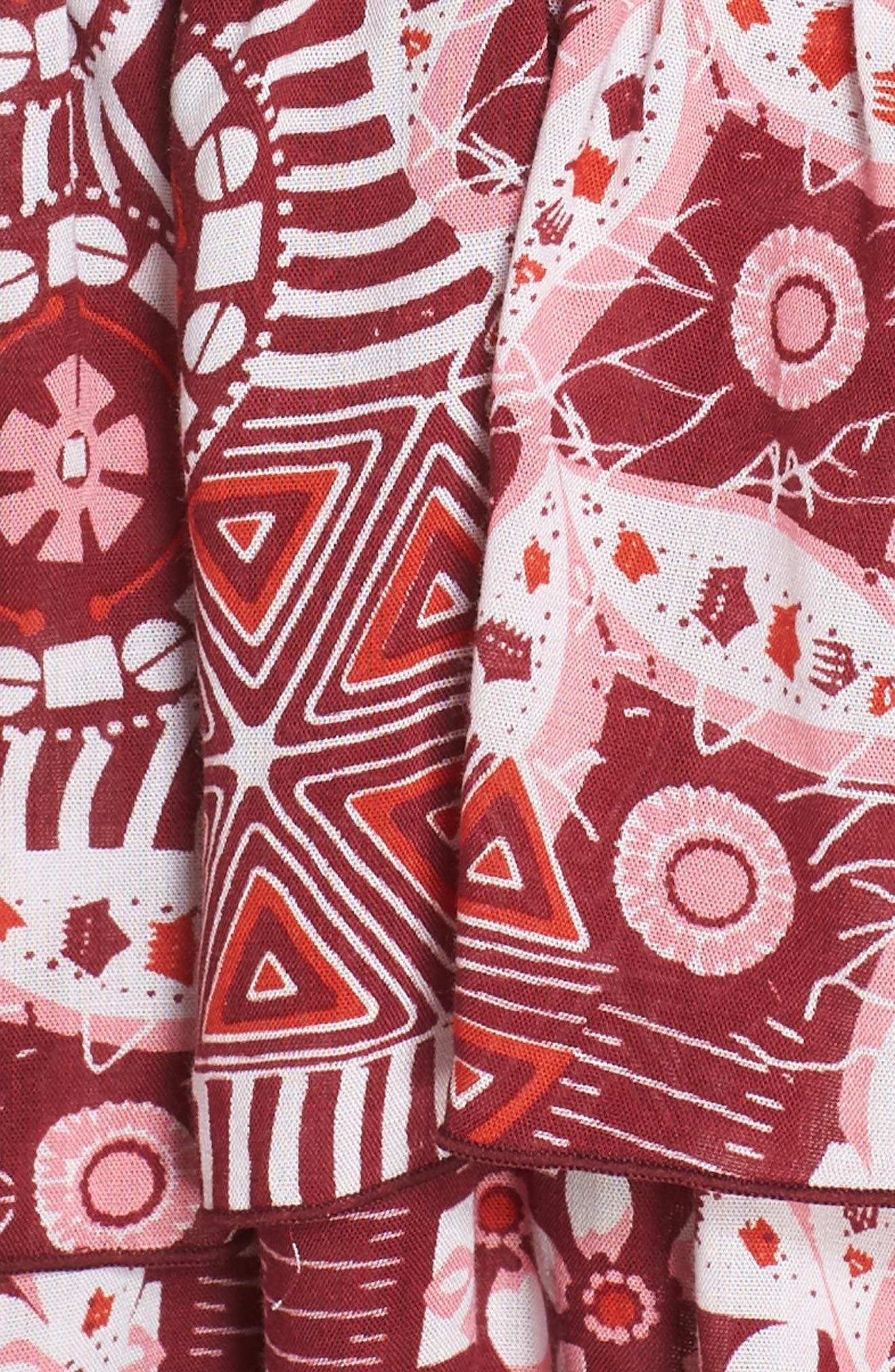 Poupette St. Barth Bety Cover-Up Minidress,                             Alternate thumbnail 5, color,                             Pink Mali