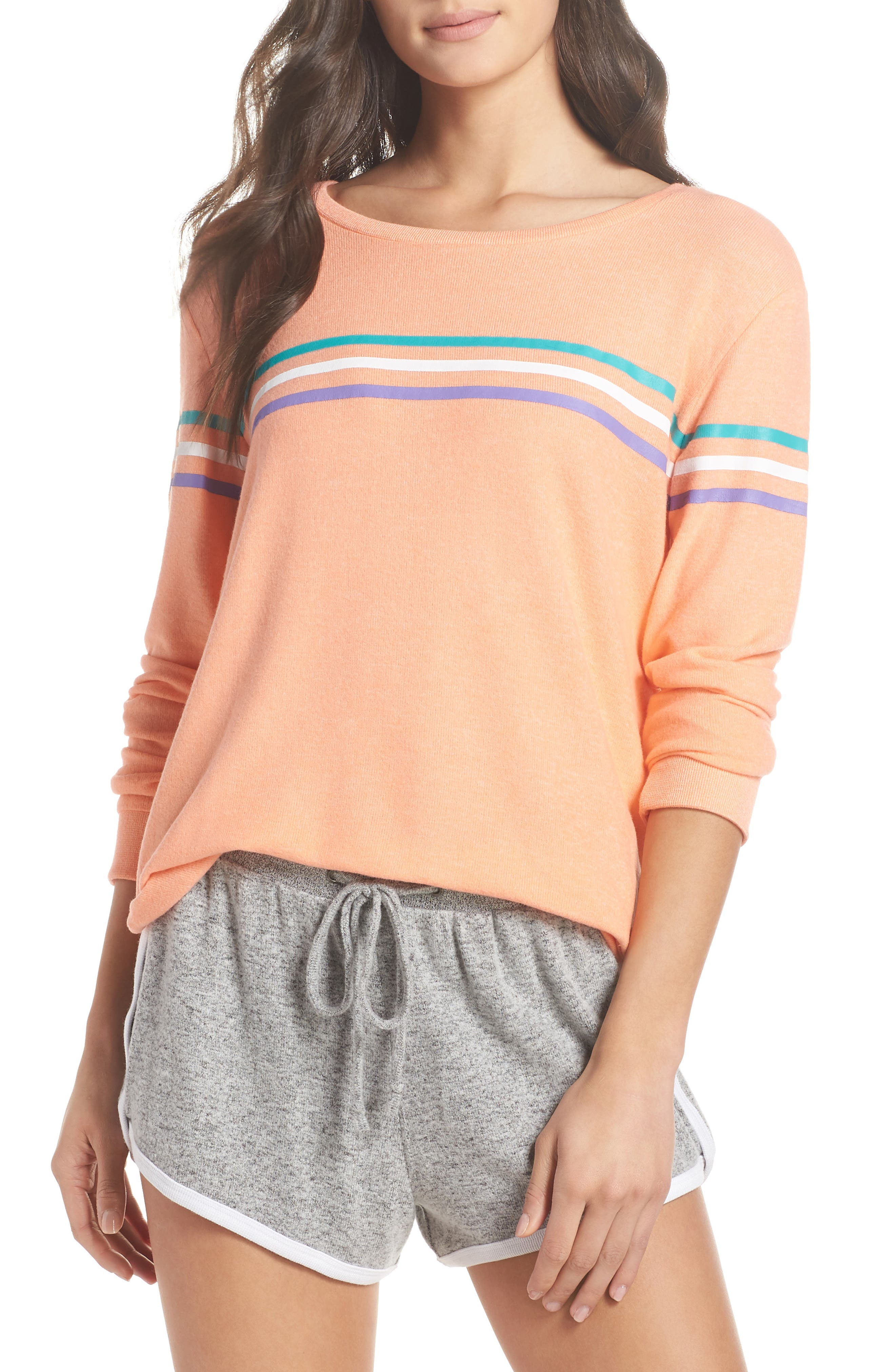 Too Cool Pullover,                             Main thumbnail 1, color,                             Coral Pink