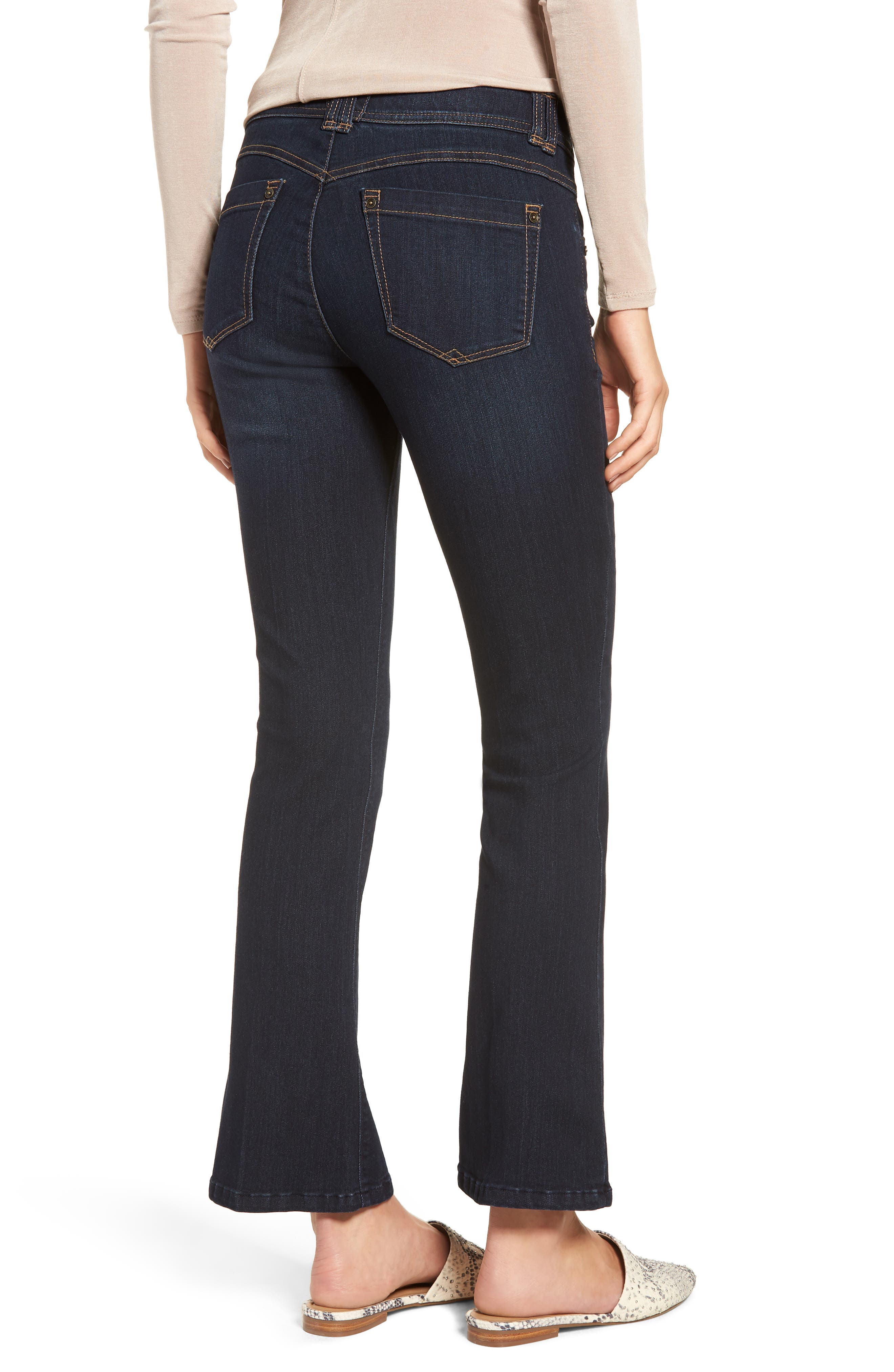Ab-solution Itty Bitty Bootcut Jeans,                             Alternate thumbnail 2, color,                             In-Indigo