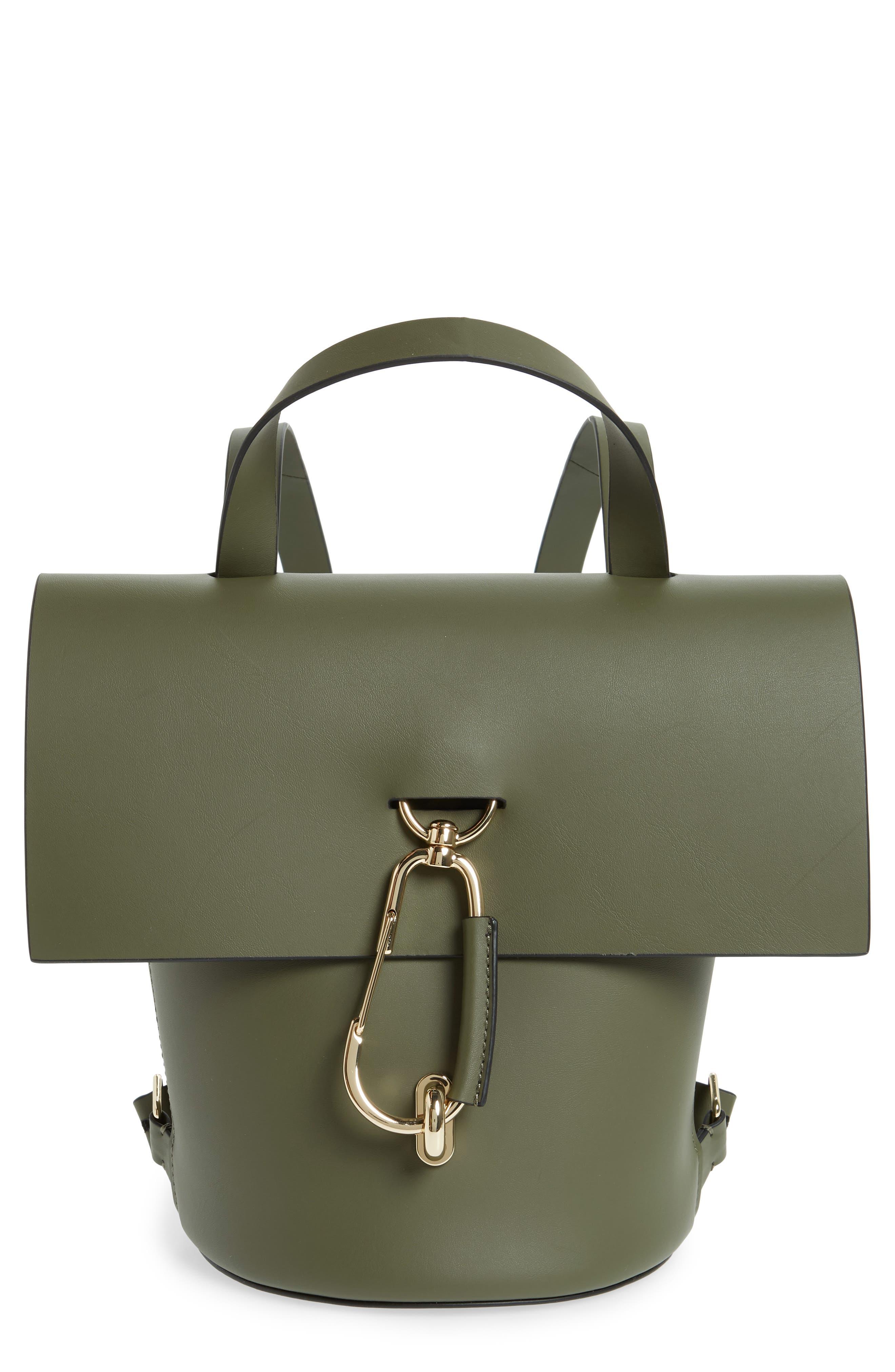 ZAC Zac Posen Belay Calfskin Leather Backpack