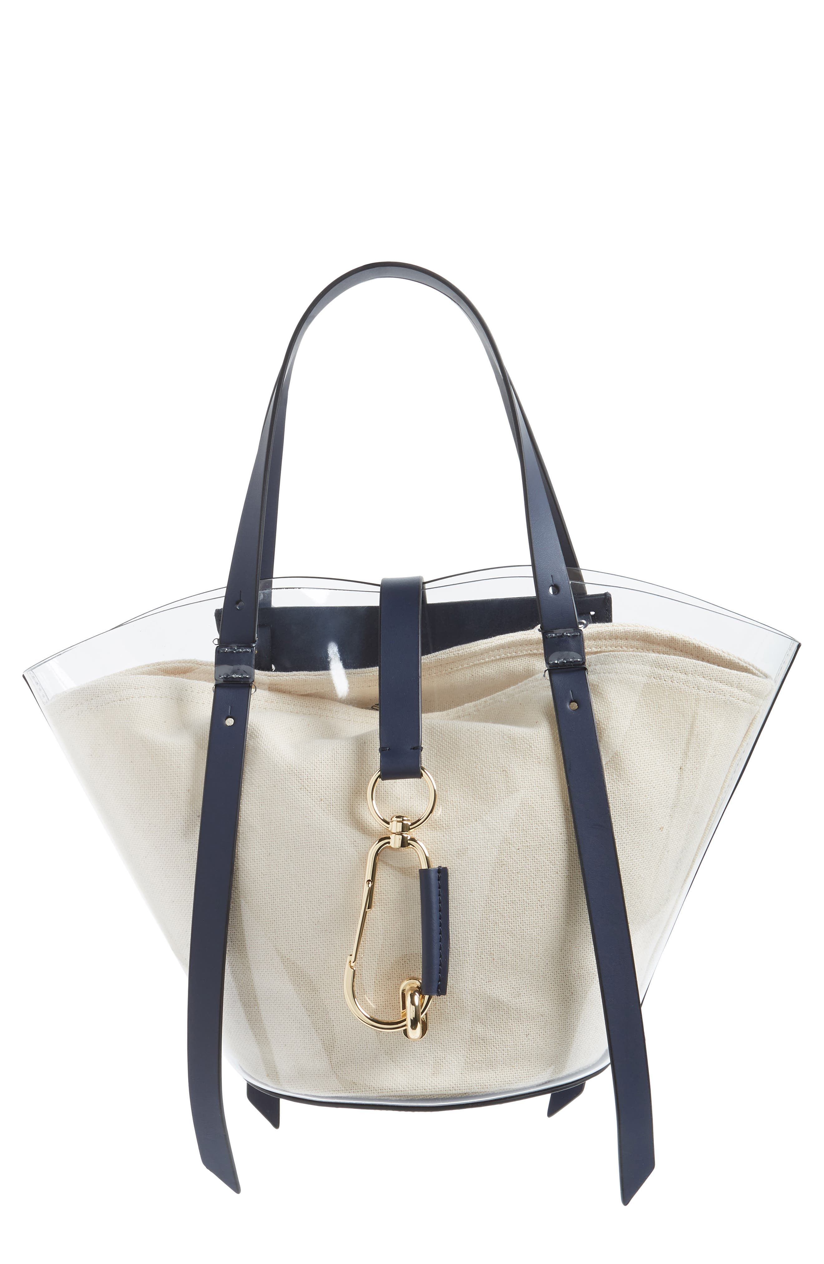 Small Belay Tote,                         Main,                         color, Navy