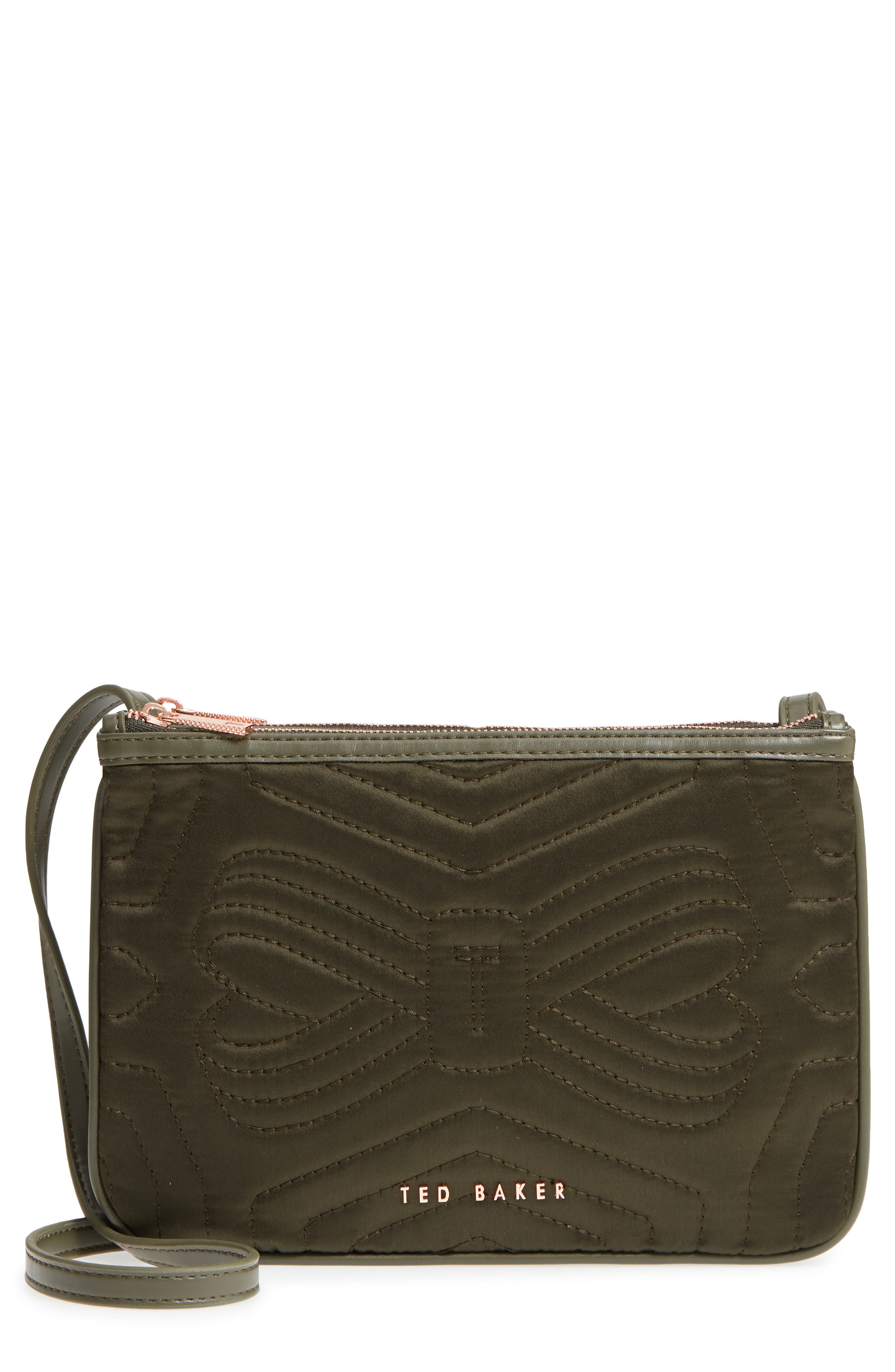 Ted Baker London Quilted Bow Crossbody Bag