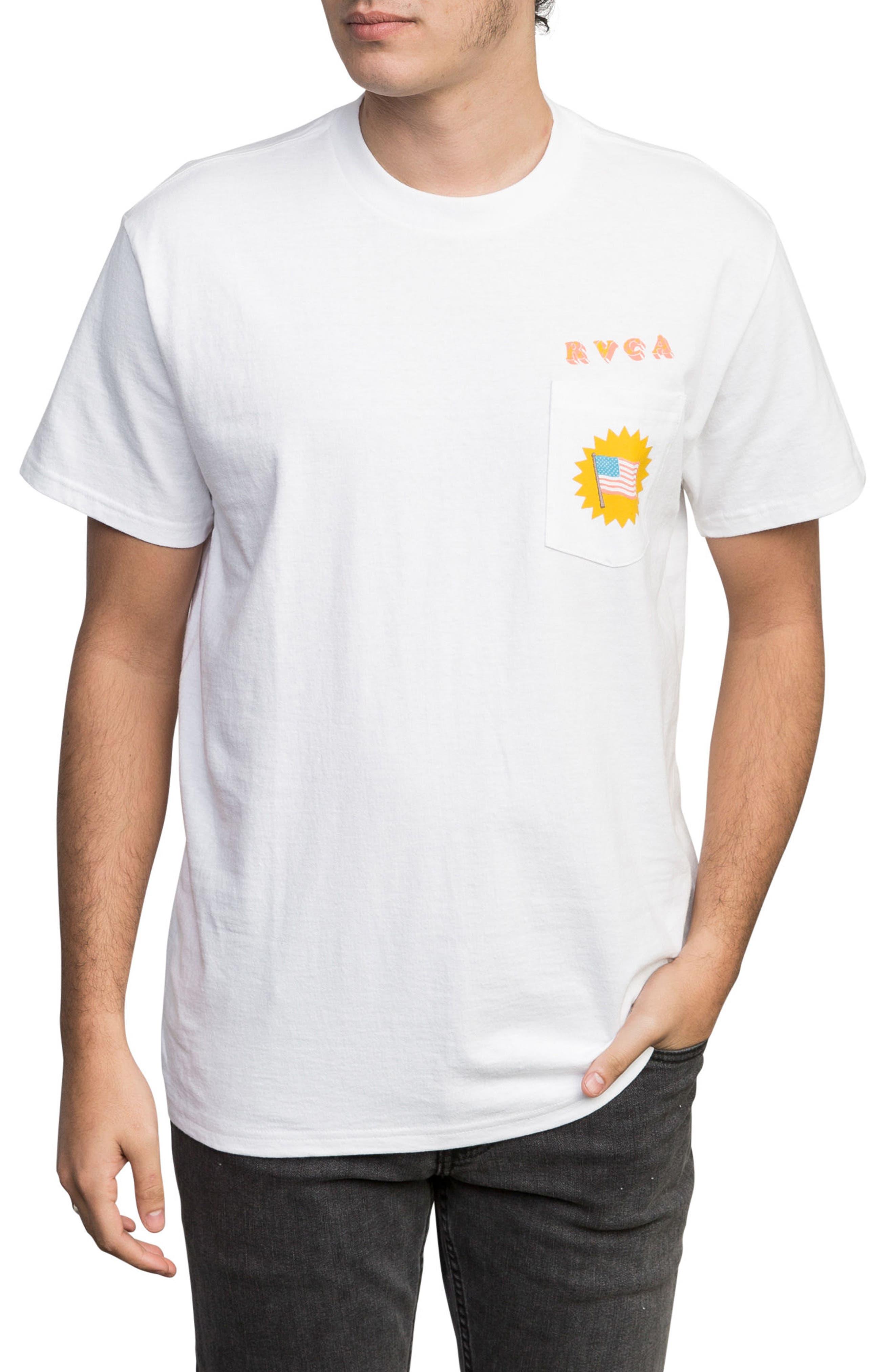 Luke Pelletier Blue Panther T-Shirt,                             Main thumbnail 1, color,                             White