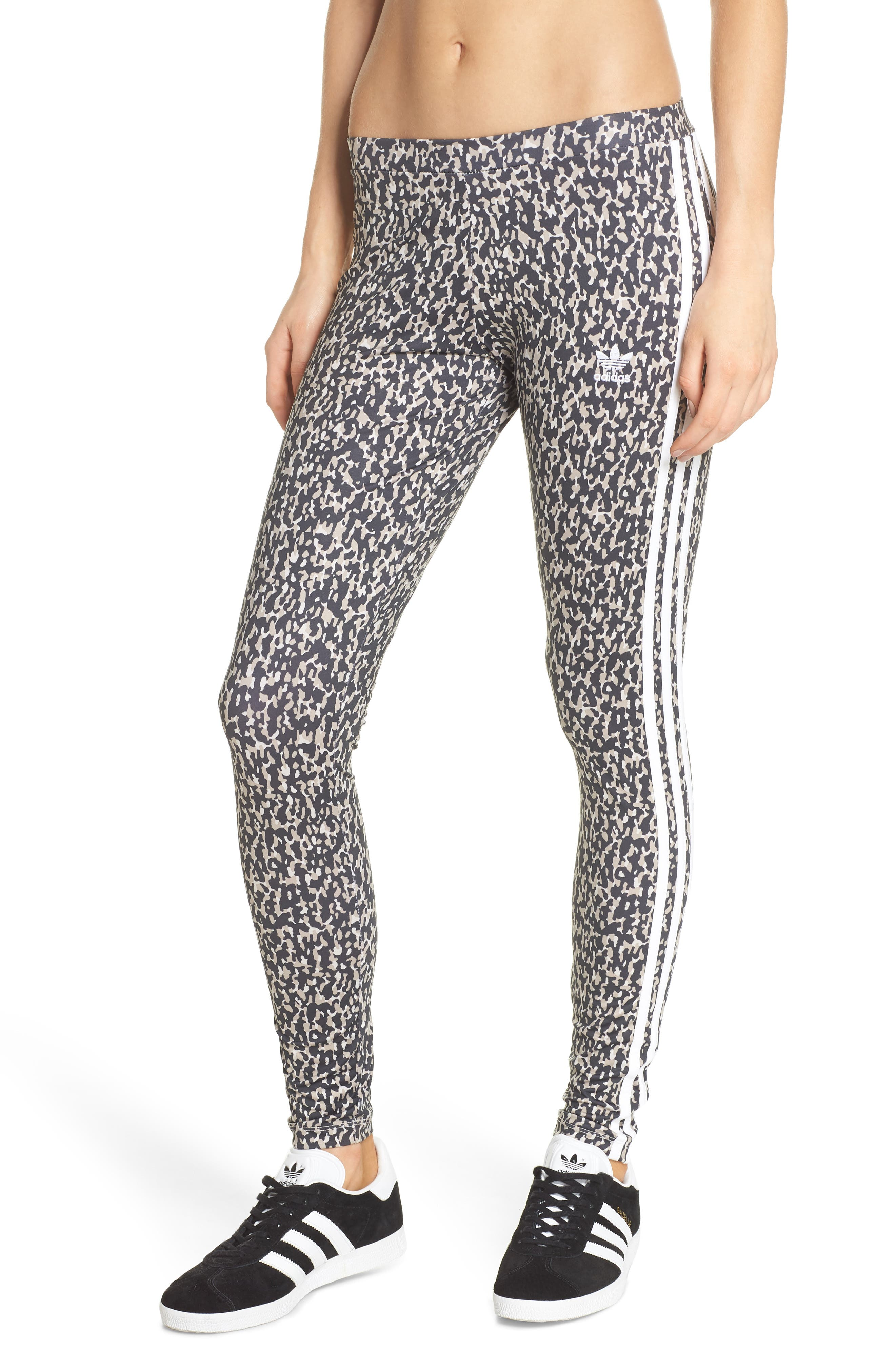 Leopard Camo Leggings,                             Main thumbnail 1, color,                             Leoflage Aop