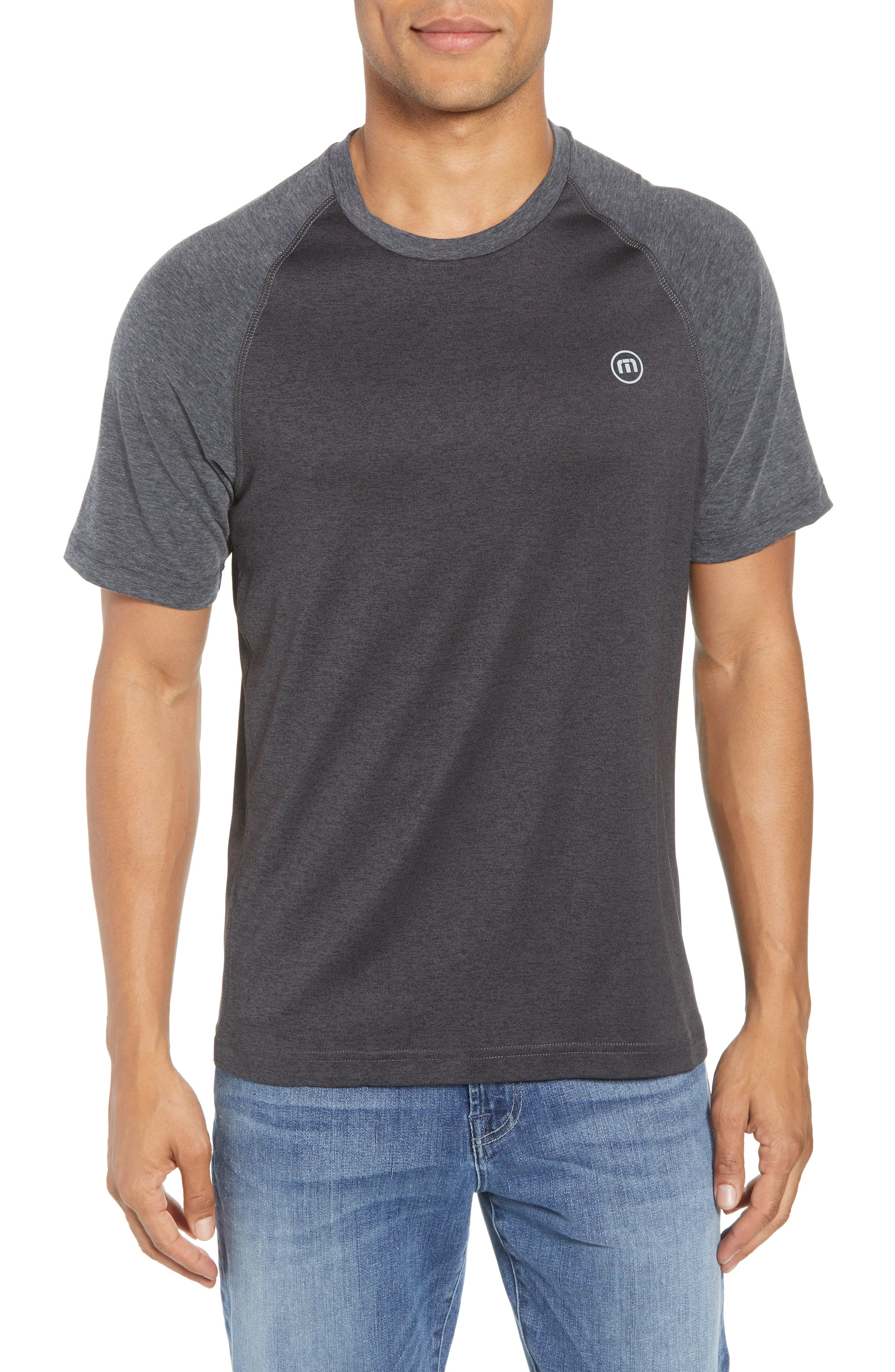 Travis Mathew Bearing Raglan Performance T-Shirt