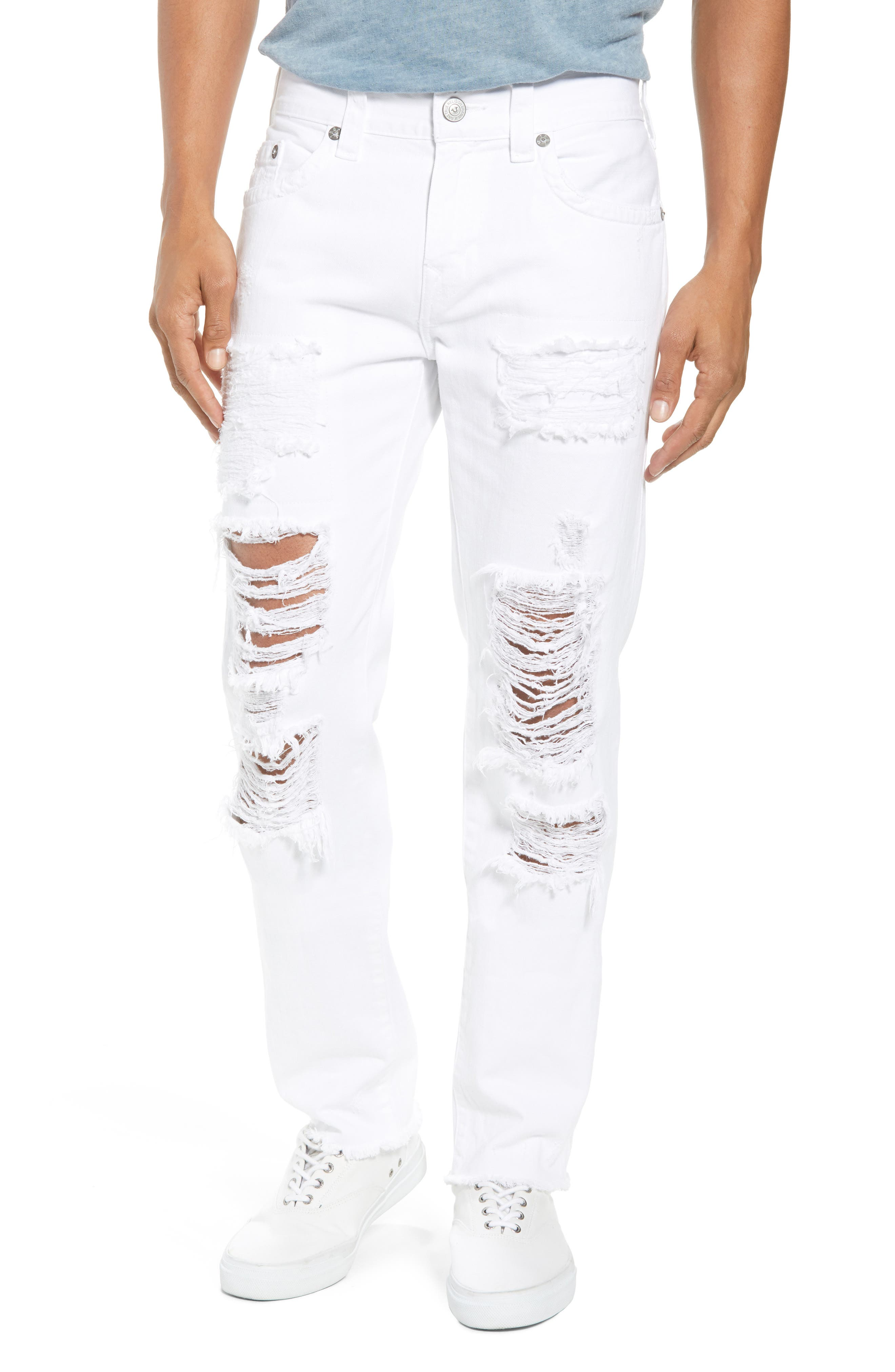 Rocco Skinny Fit jeans,                             Main thumbnail 1, color,                             White Volcanic Ash