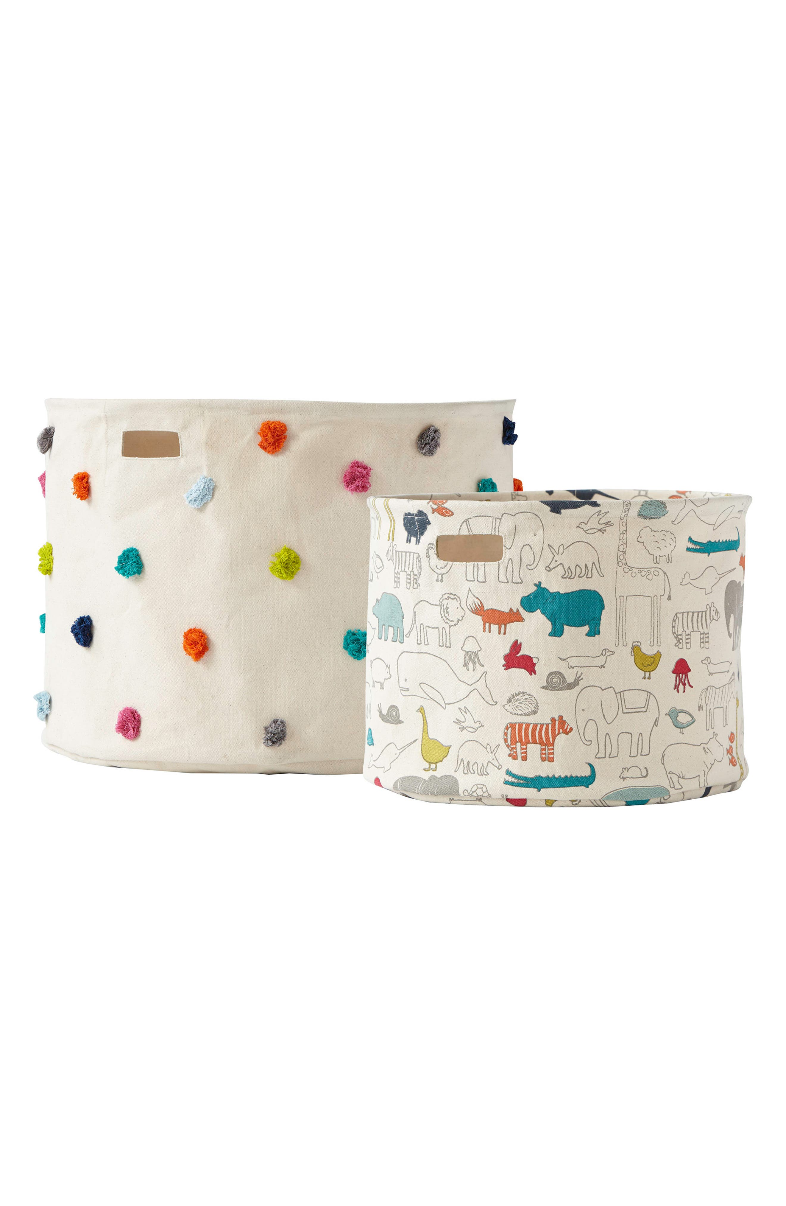 Petit Pehr Set of 2 Canvas Bins