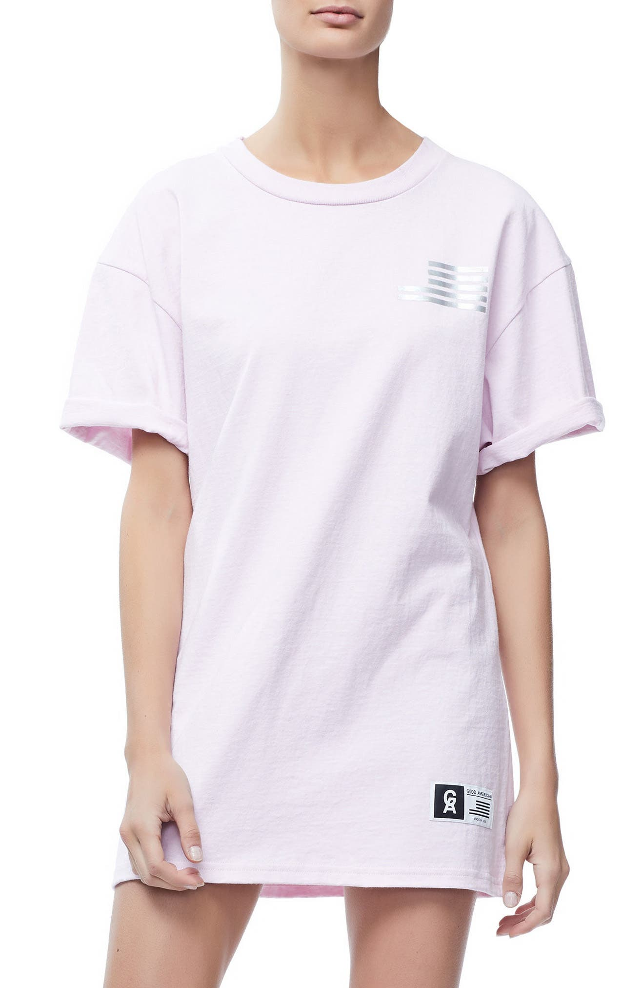 Good Squad Tee,                         Main,                         color, Pink