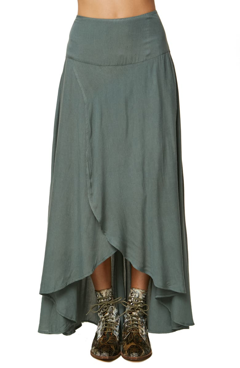 Ambrosio Tulip Hem Skirt
