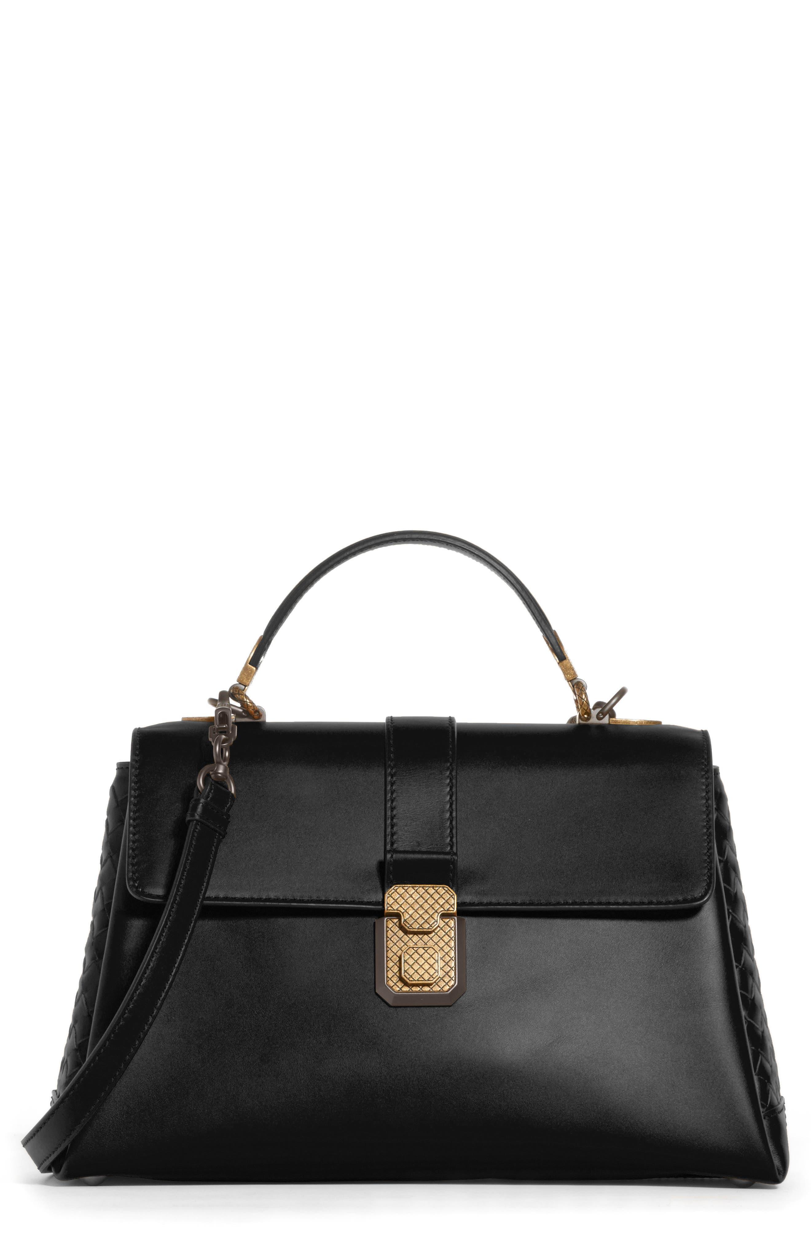 Bottega Veneta Medium Piazza Top Handle Bag