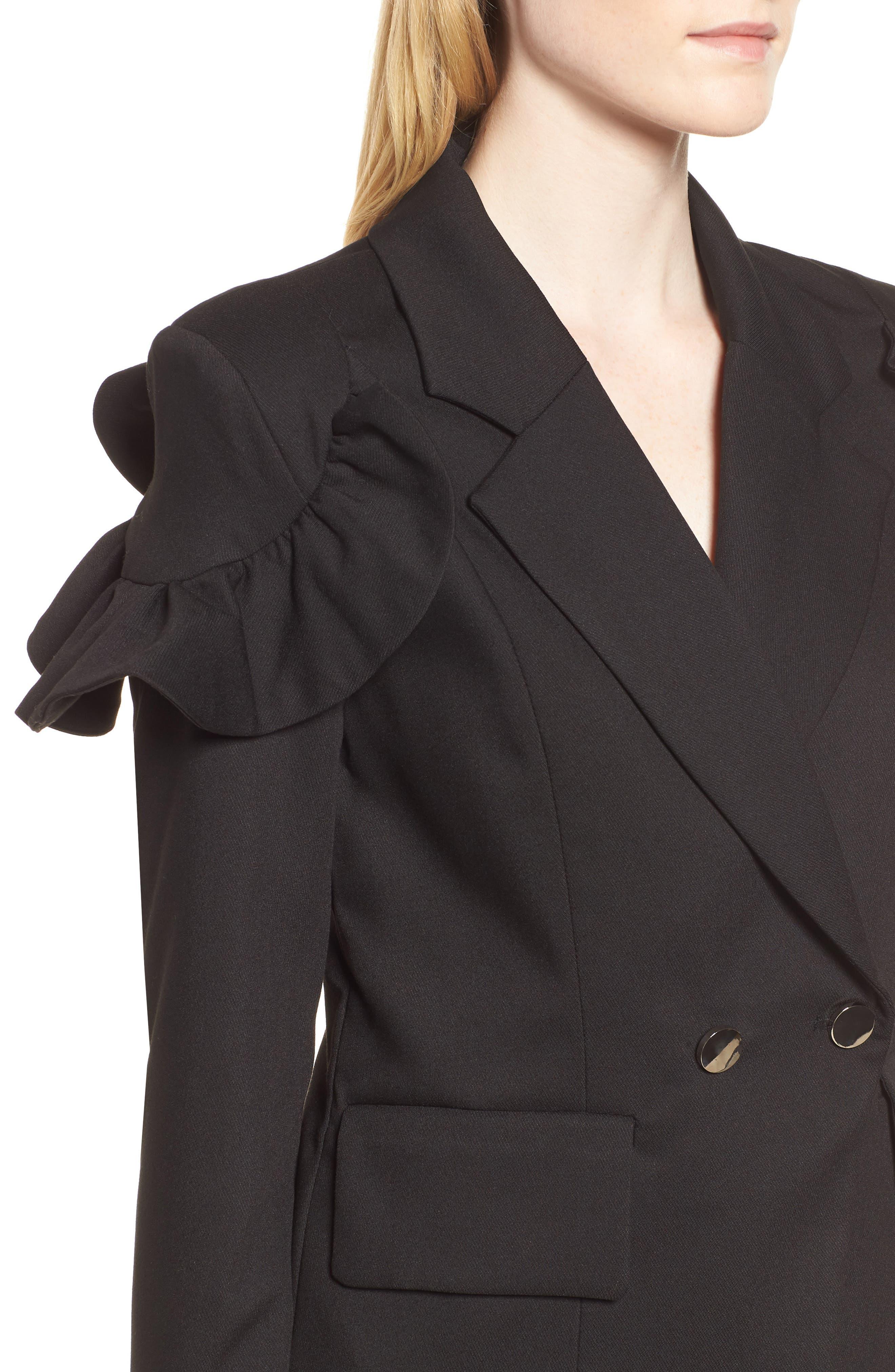 Harmony Jacket,                             Alternate thumbnail 4, color,                             Black
