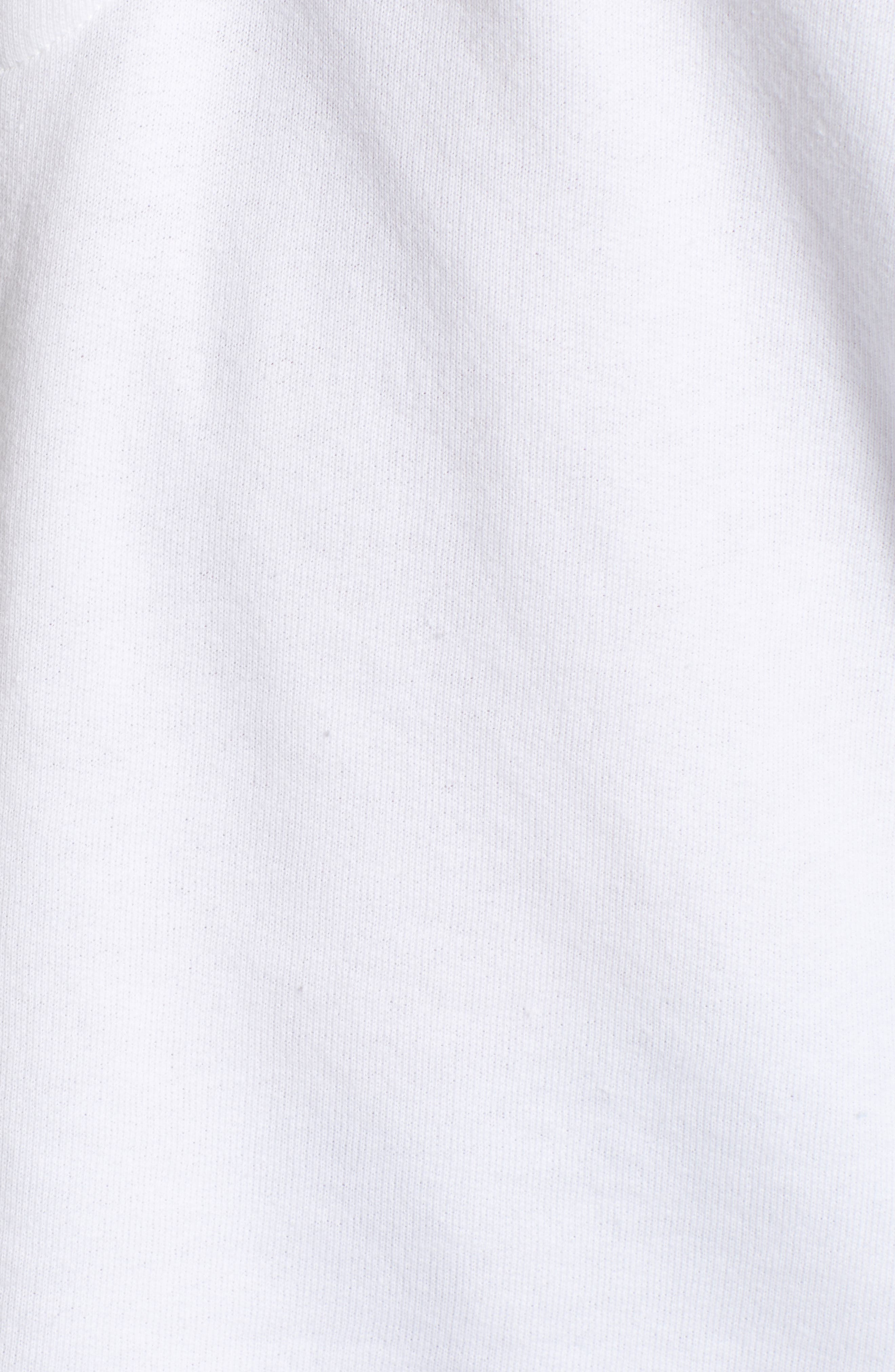 Contrast Hutton Hoodie,                             Alternate thumbnail 5, color,                             Clean White/ Heather