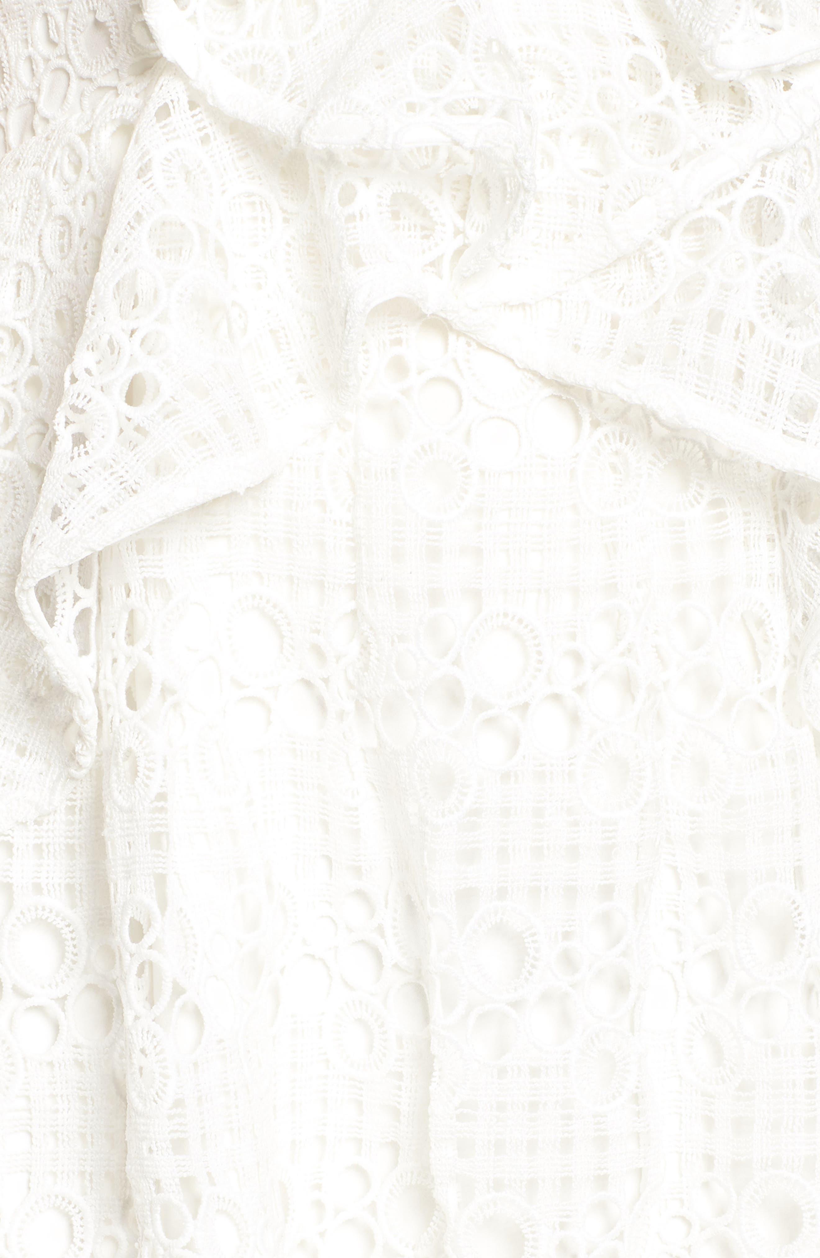 Interlude Dress,                             Alternate thumbnail 5, color,                             White