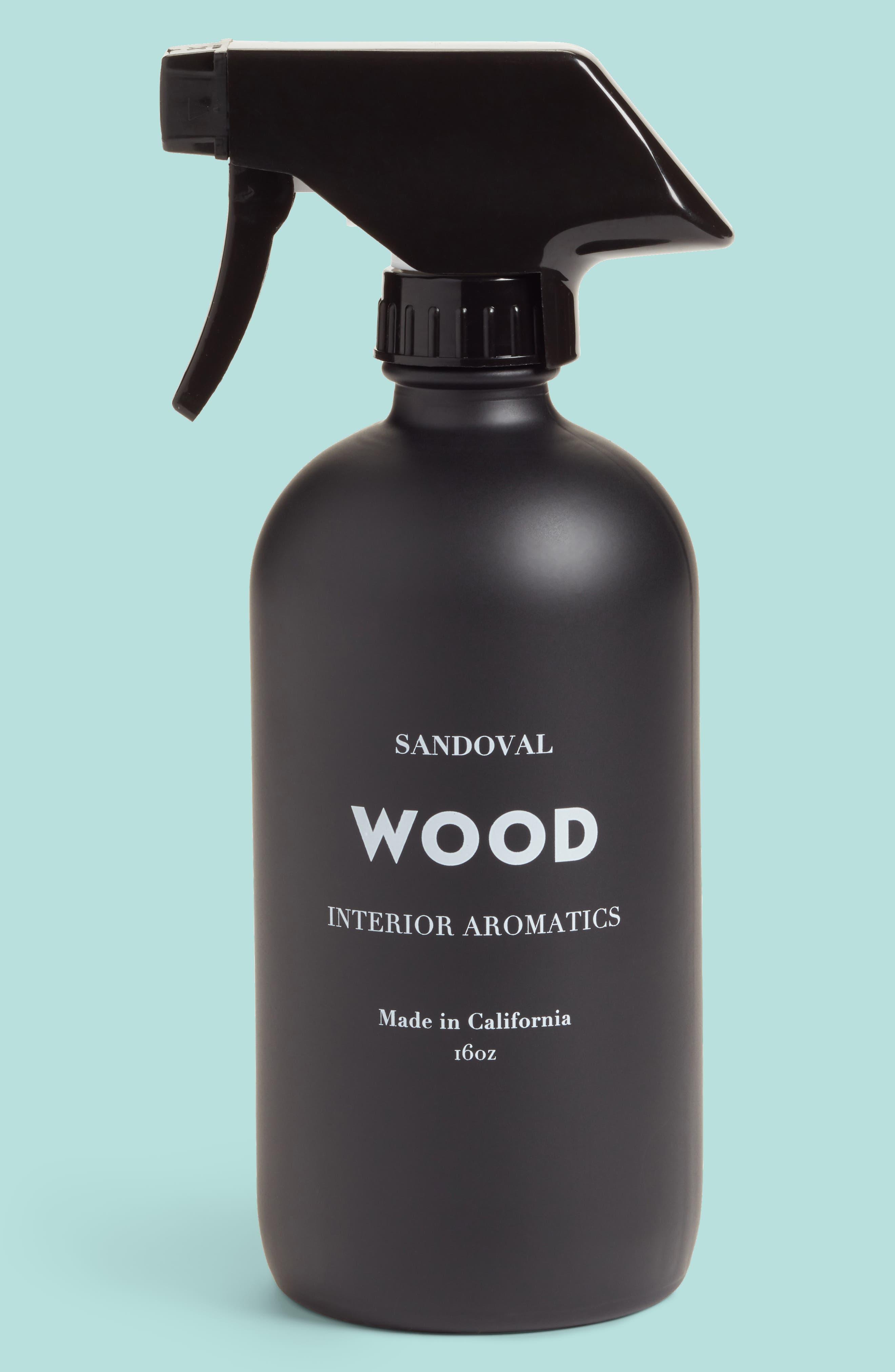 Wood Interior Aromatic Room Spray,                             Main thumbnail 1, color,                             None