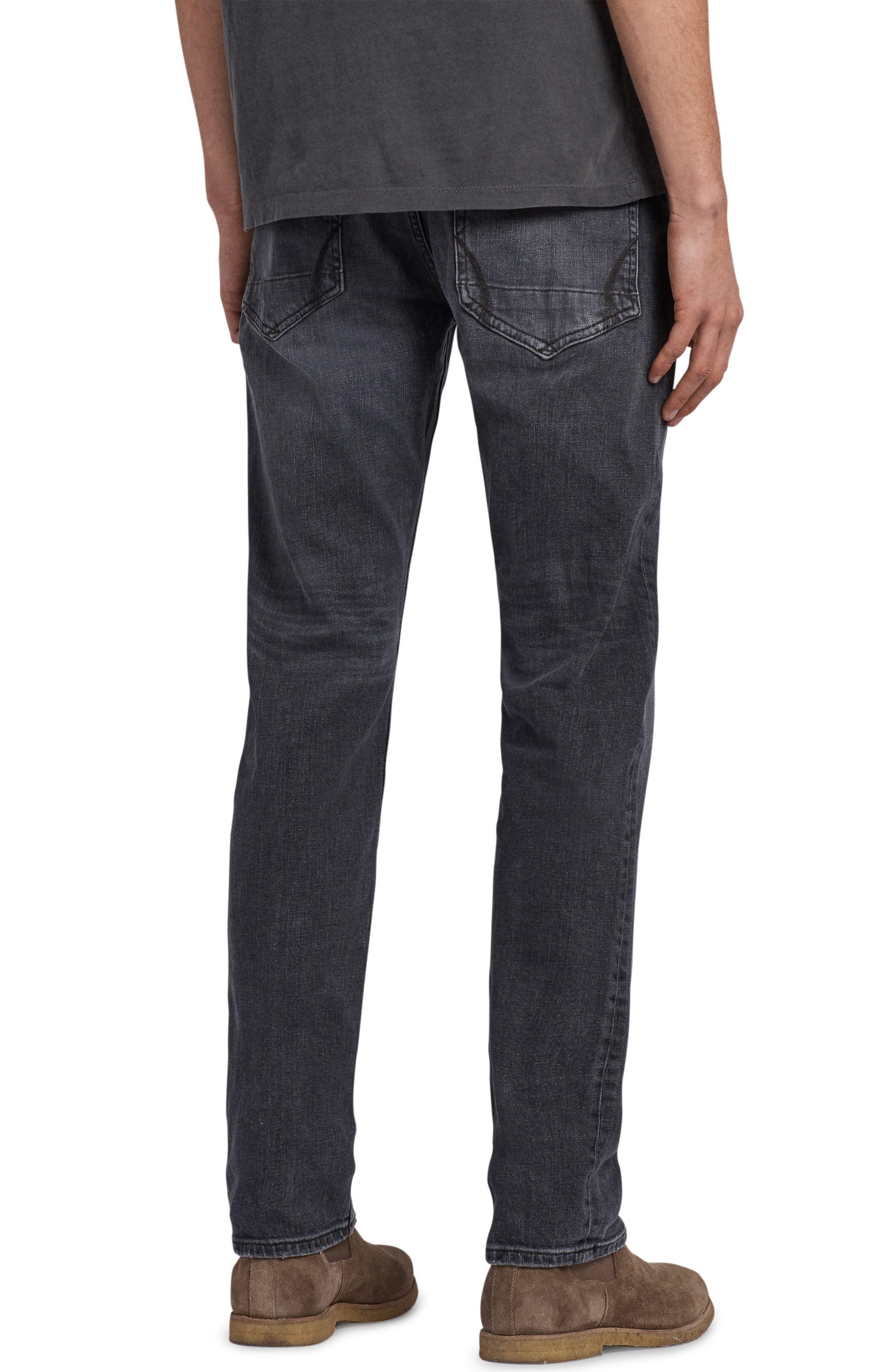 Graine Reed Regular Fit Jeans,                             Alternate thumbnail 2, color,                             Grey