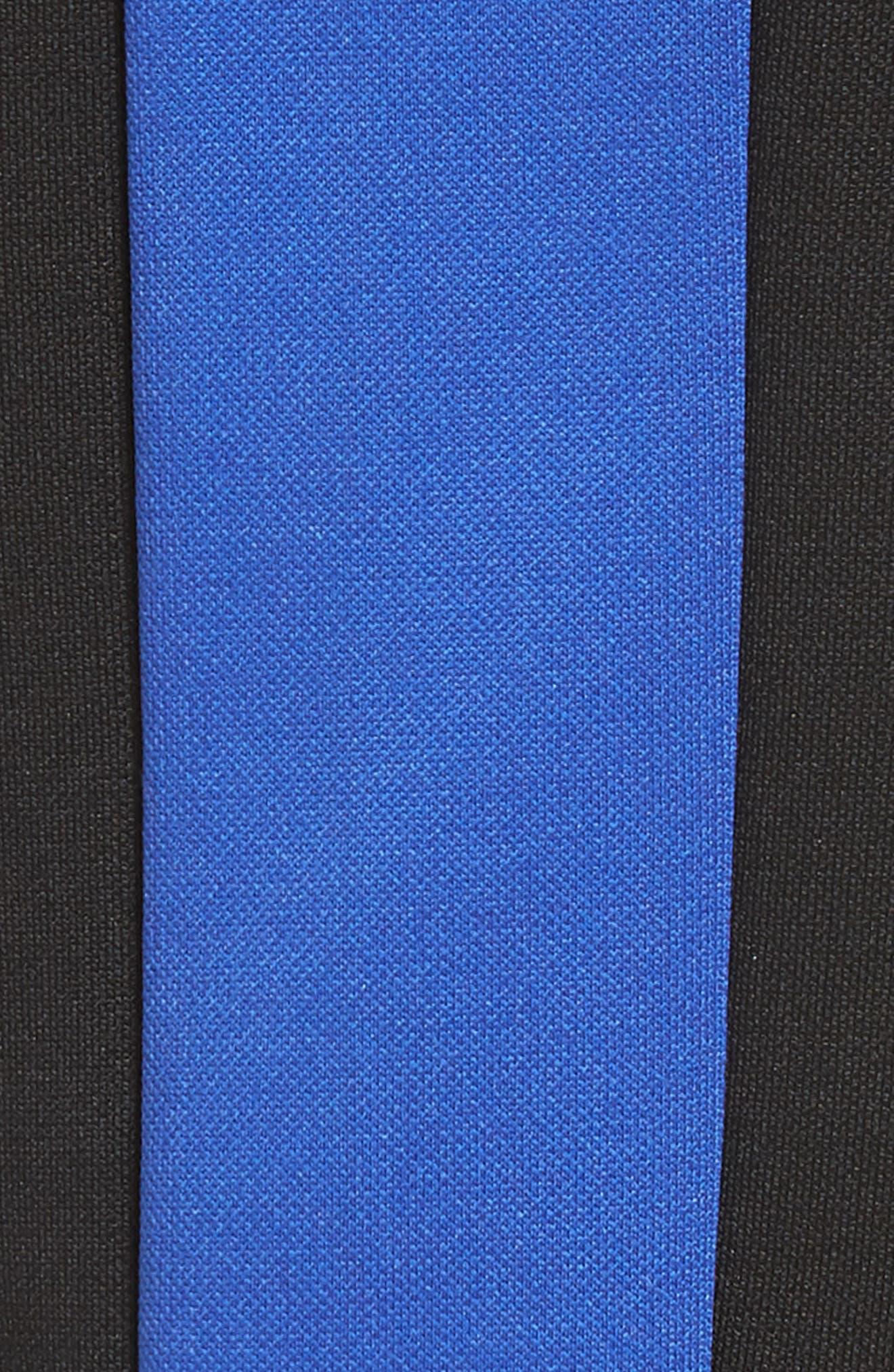 Stripe Shorts,                             Alternate thumbnail 5, color,                             Blue/ White/ Black