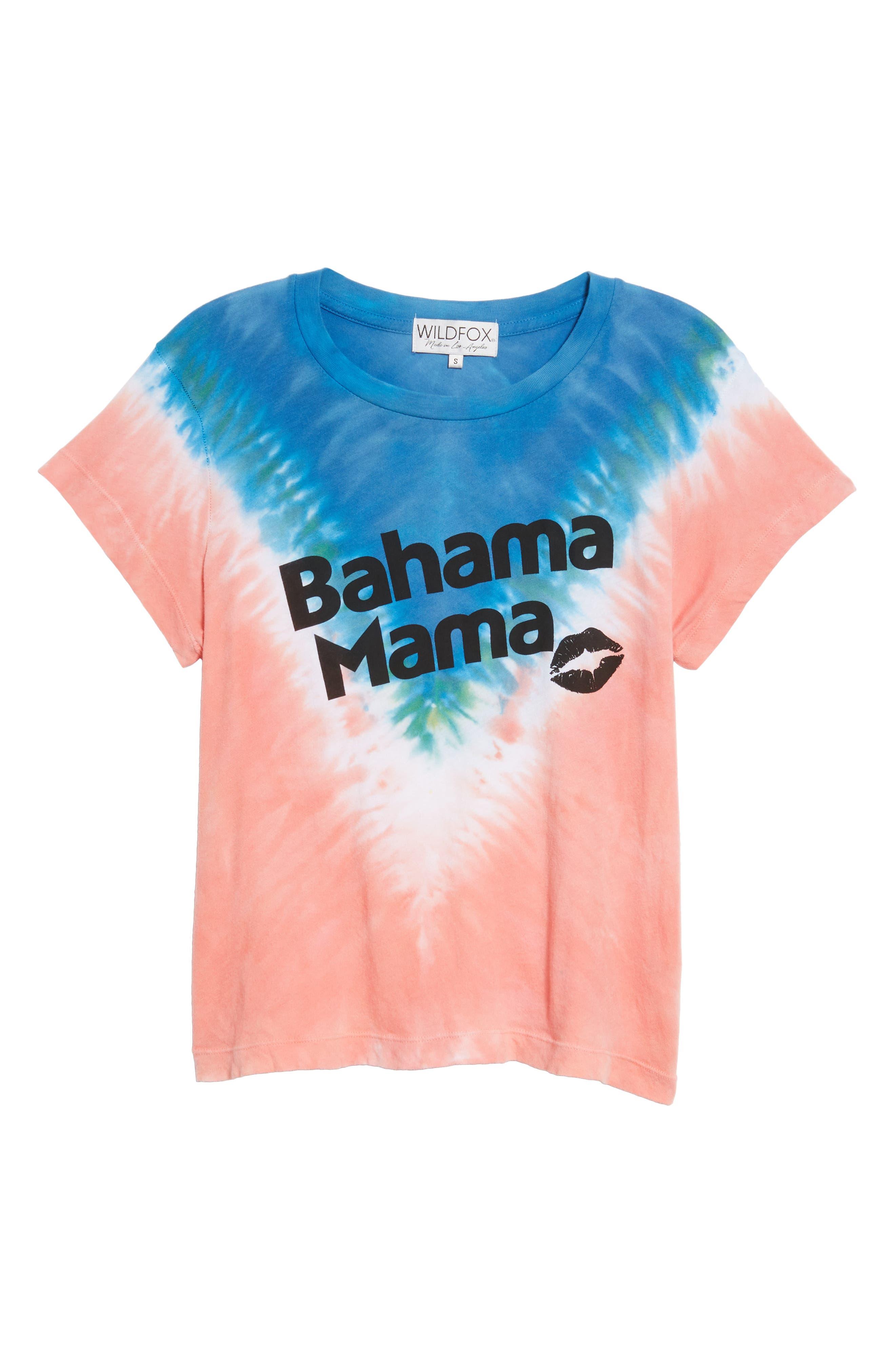 Bahama Mama No9 Tee,                             Alternate thumbnail 6, color,                             Pacific Tie Dye