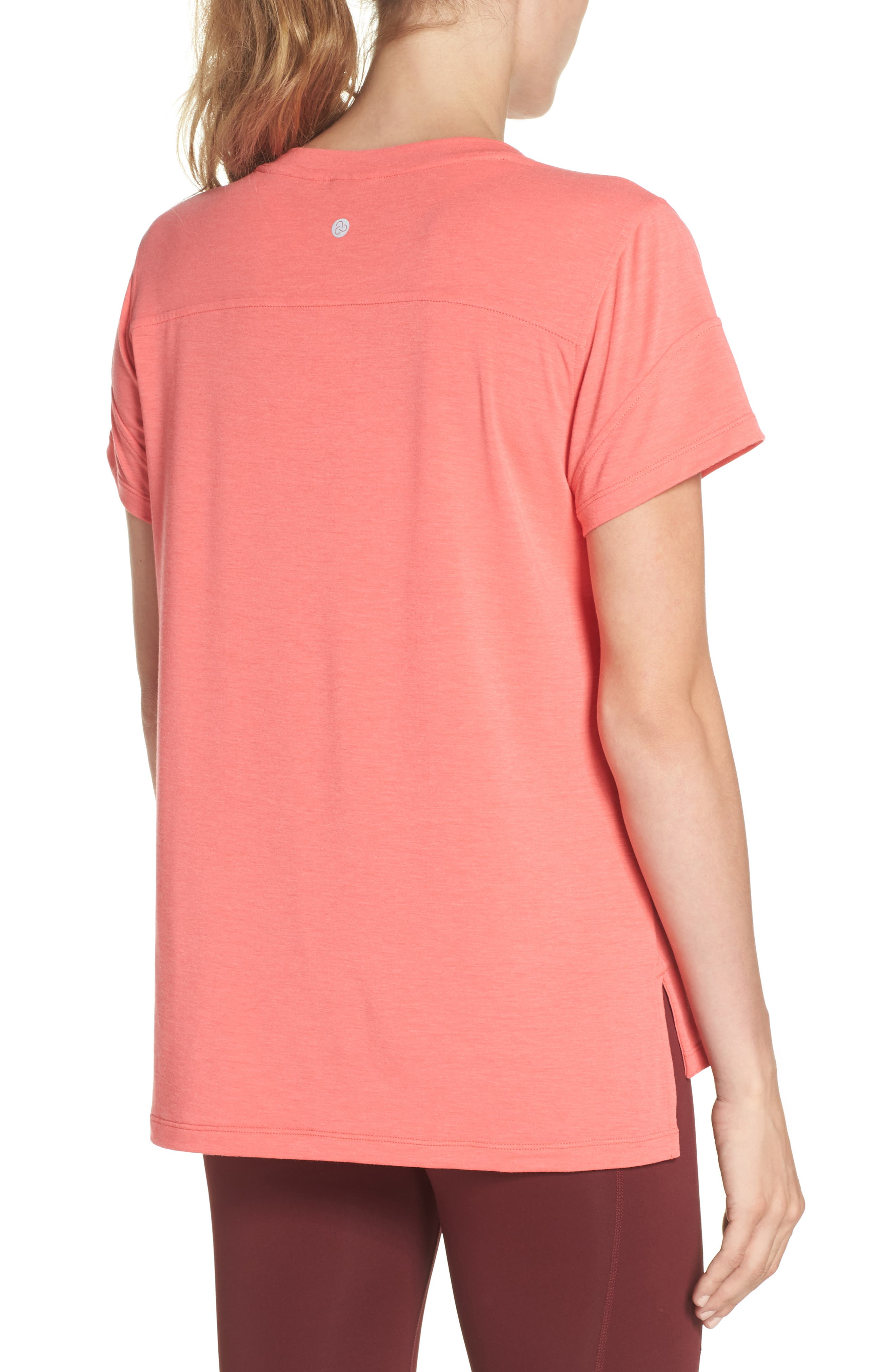 Ava Tee,                             Alternate thumbnail 2, color,                             Coral Calypso