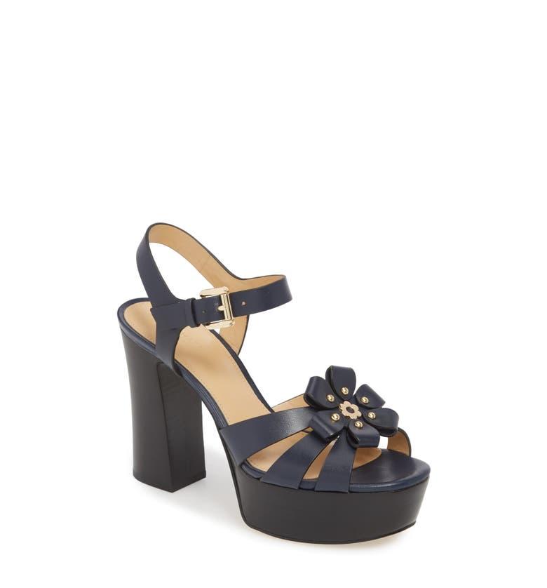 715483e9c84 Michael Michael Kors Tara Platform Sandal In Admiral Leather