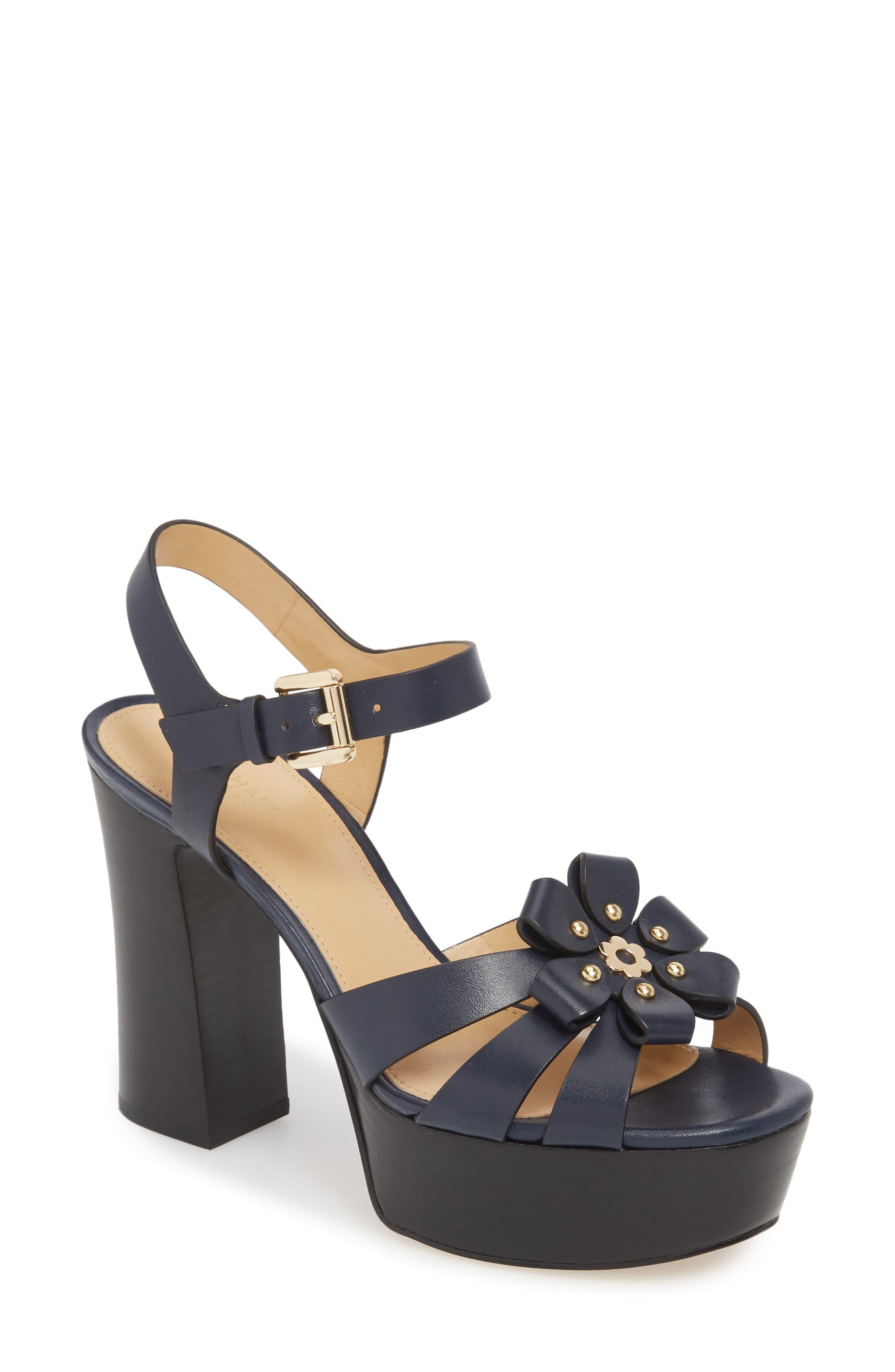 MICHAEL Michael Kors Tara Platform Sandal (Women)