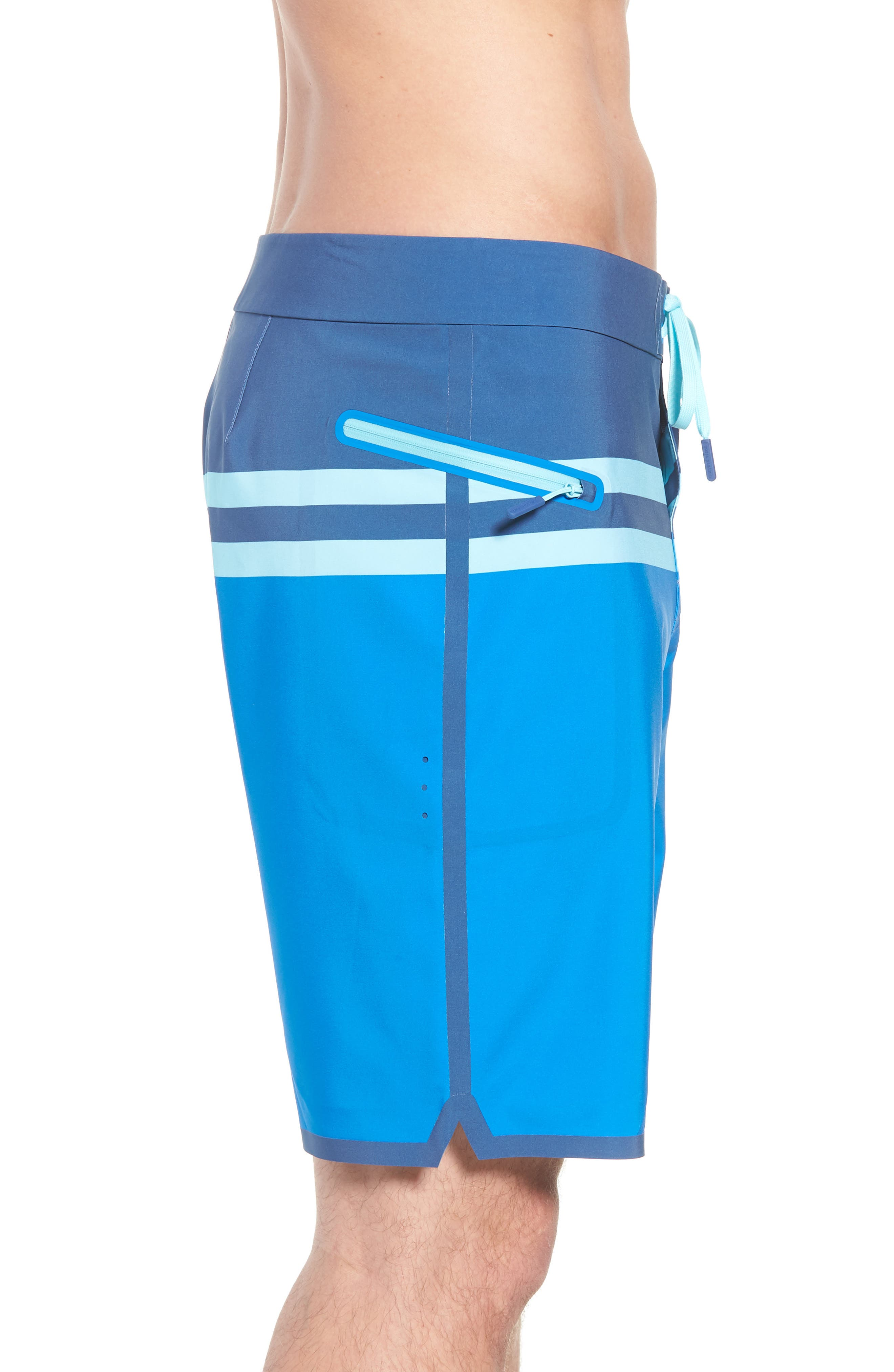 Bay Ridge Board Shorts,                             Alternate thumbnail 3, color,                             Azure