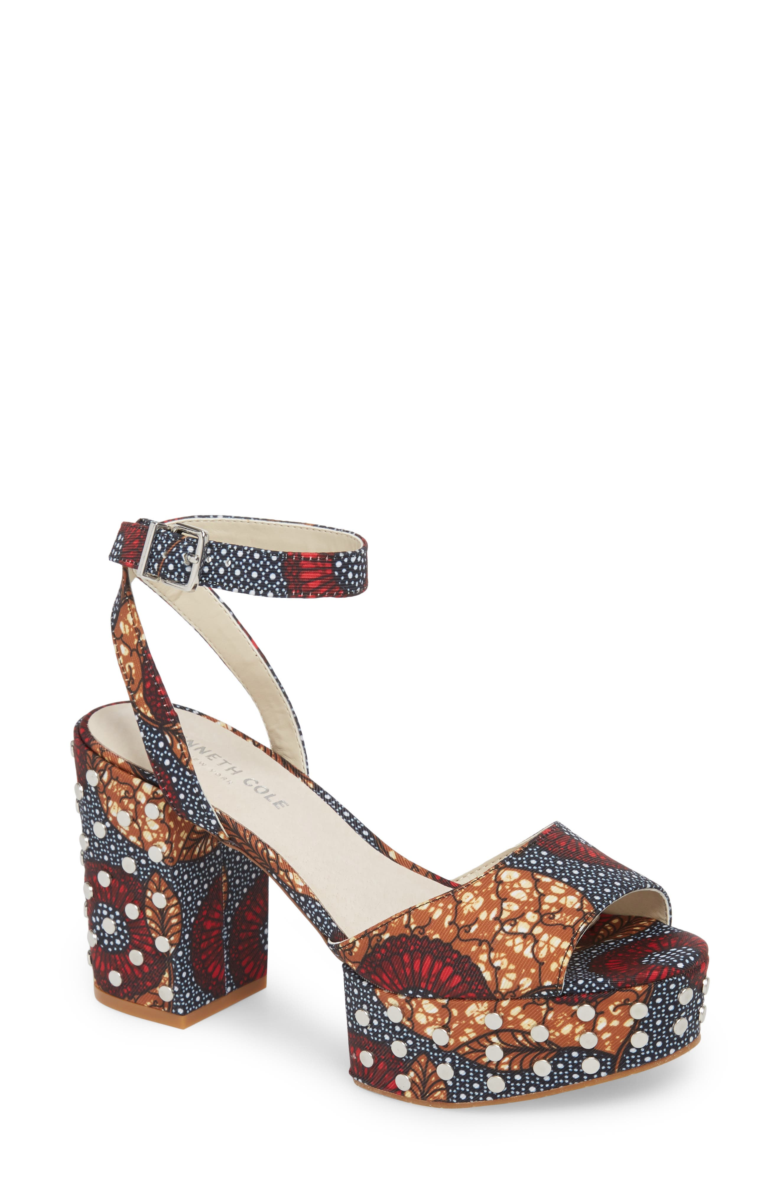 Kenneth Cole New York Phoenix Stud Platform Sandal (Women)