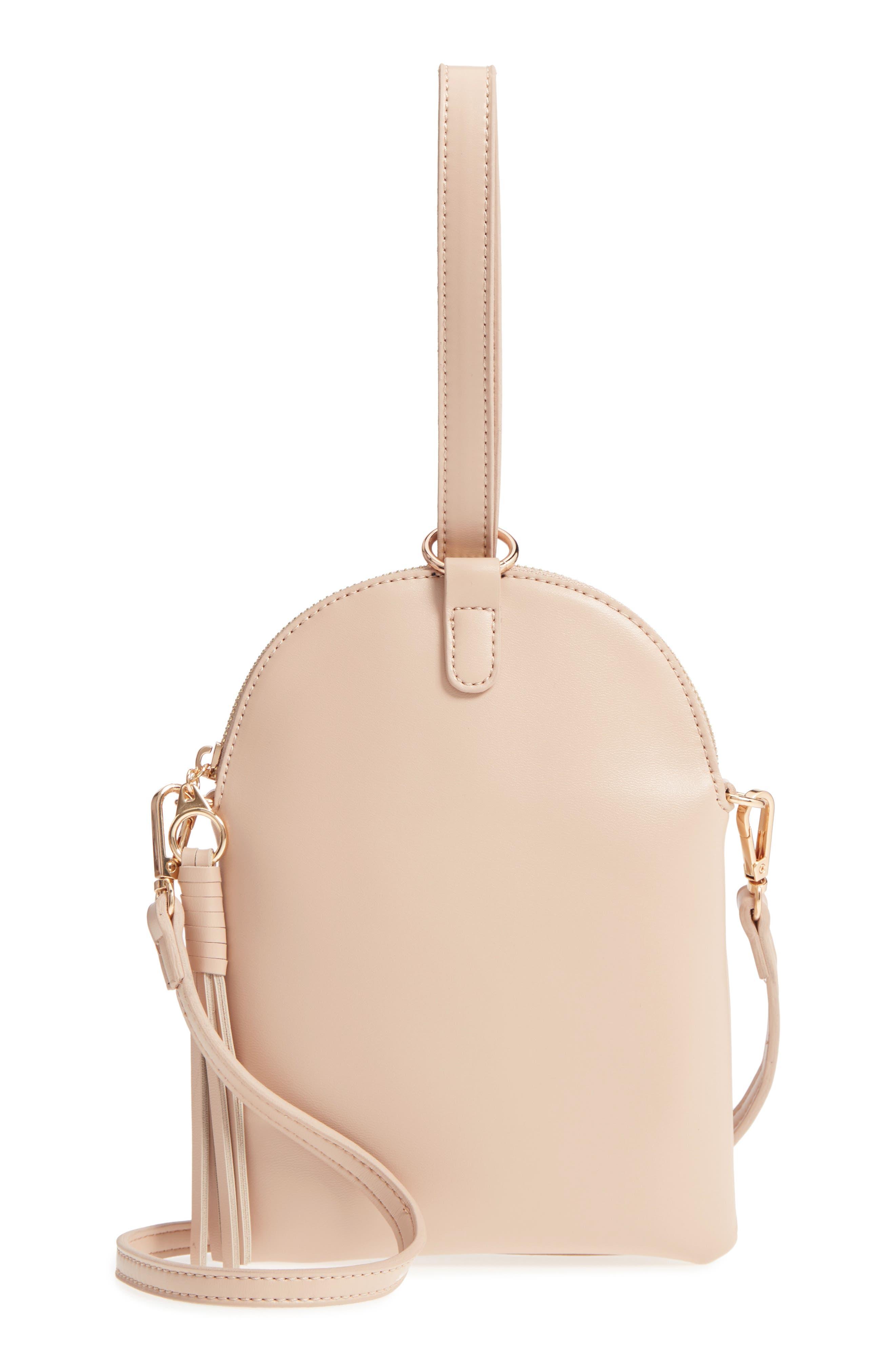 Street Level Wristlet Crossbody Bag
