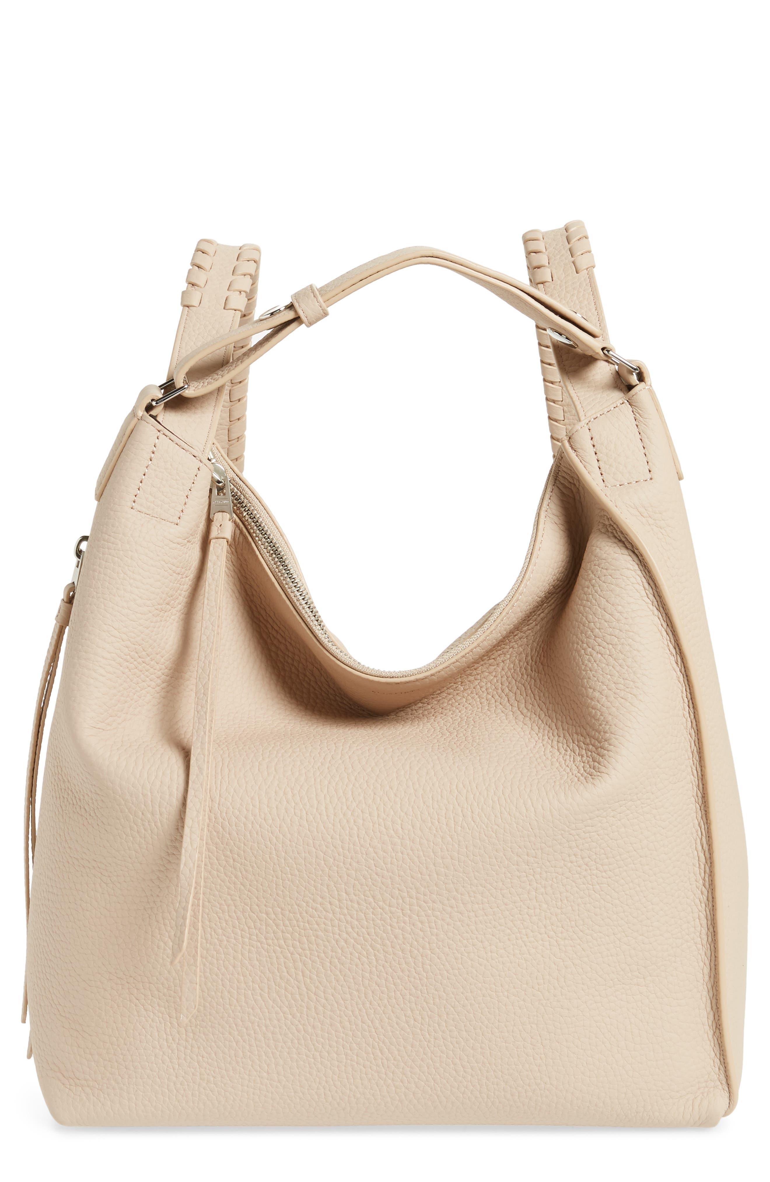 Small Kita Convertible Leather Backpack,                             Main thumbnail 1, color,                             Natural
