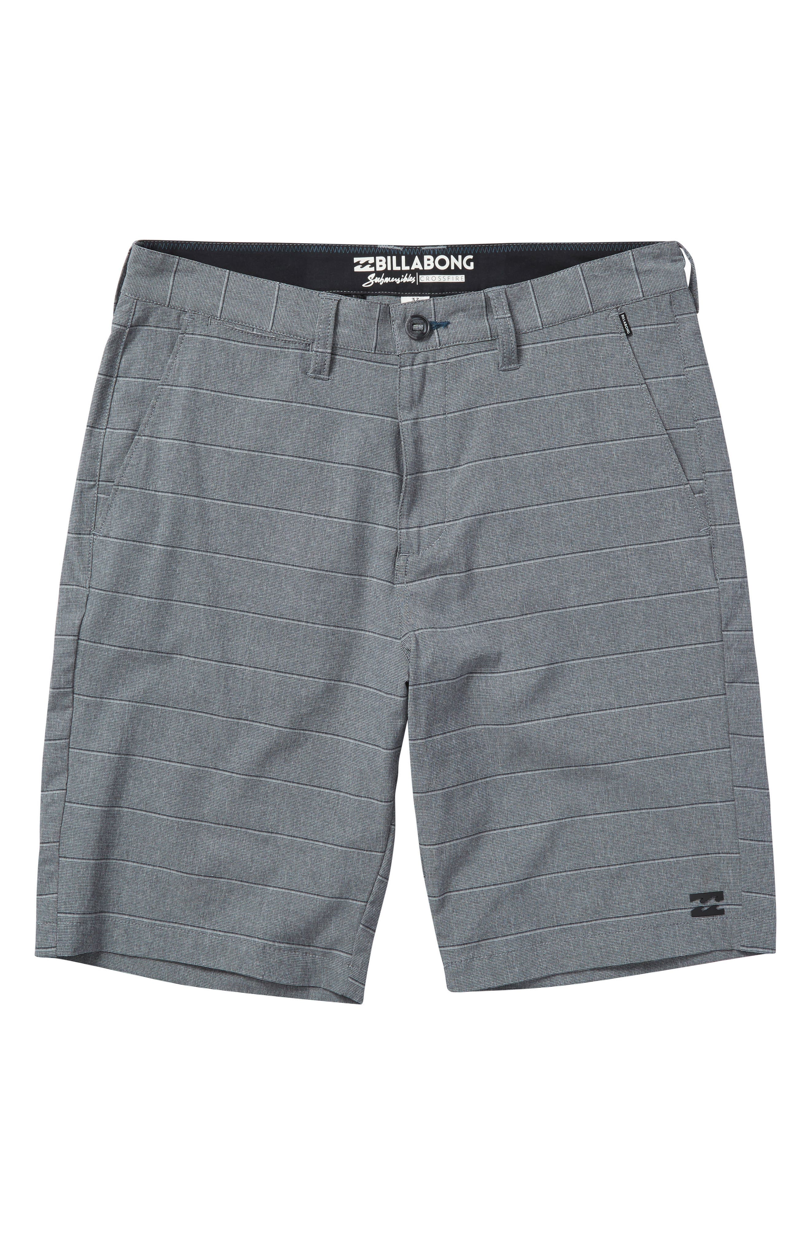 Billabong Crossfire X Stripe Hybrid Shorts (Big Boys)