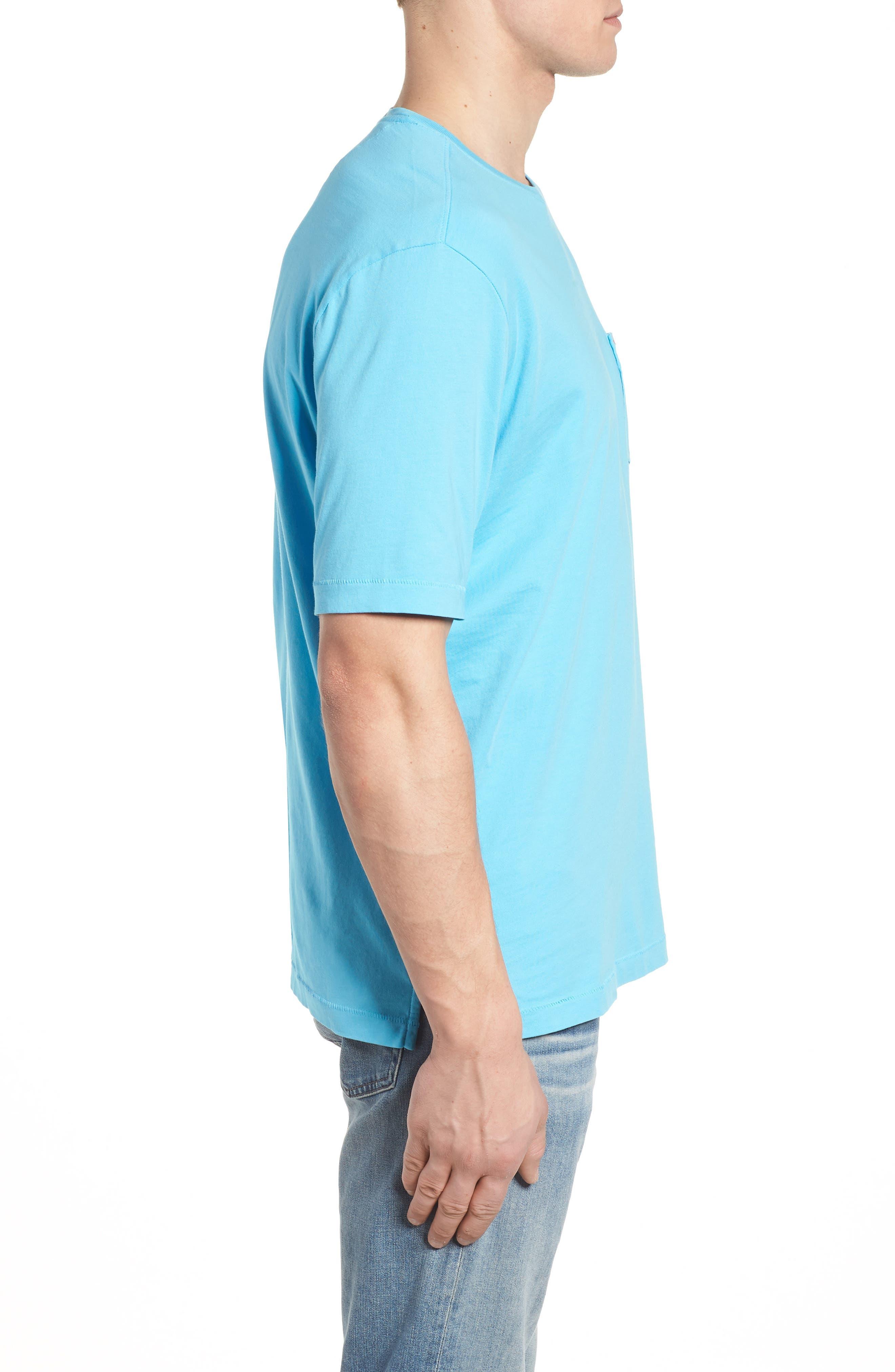 Bali Skyline T-Shirt,                             Alternate thumbnail 3, color,                             Breeze Blue