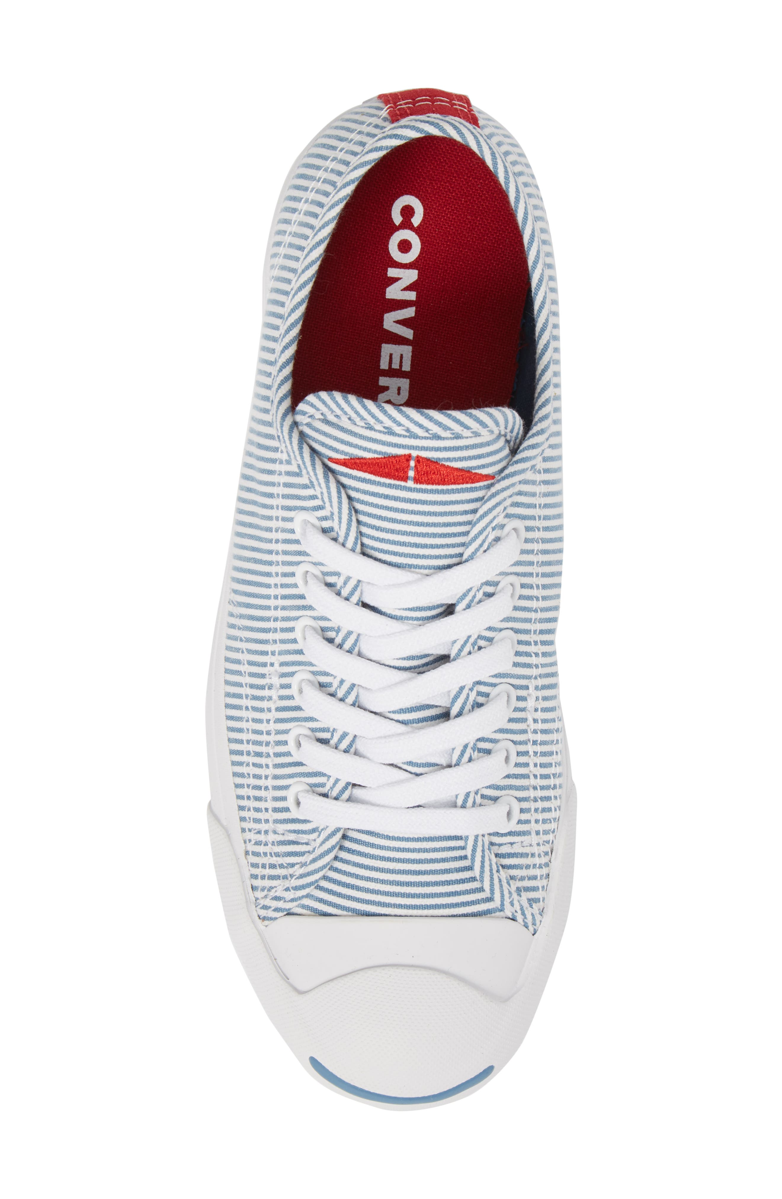 Jack Purcell Low Top Sneaker,                             Alternate thumbnail 5, color,                             Aegean Storm