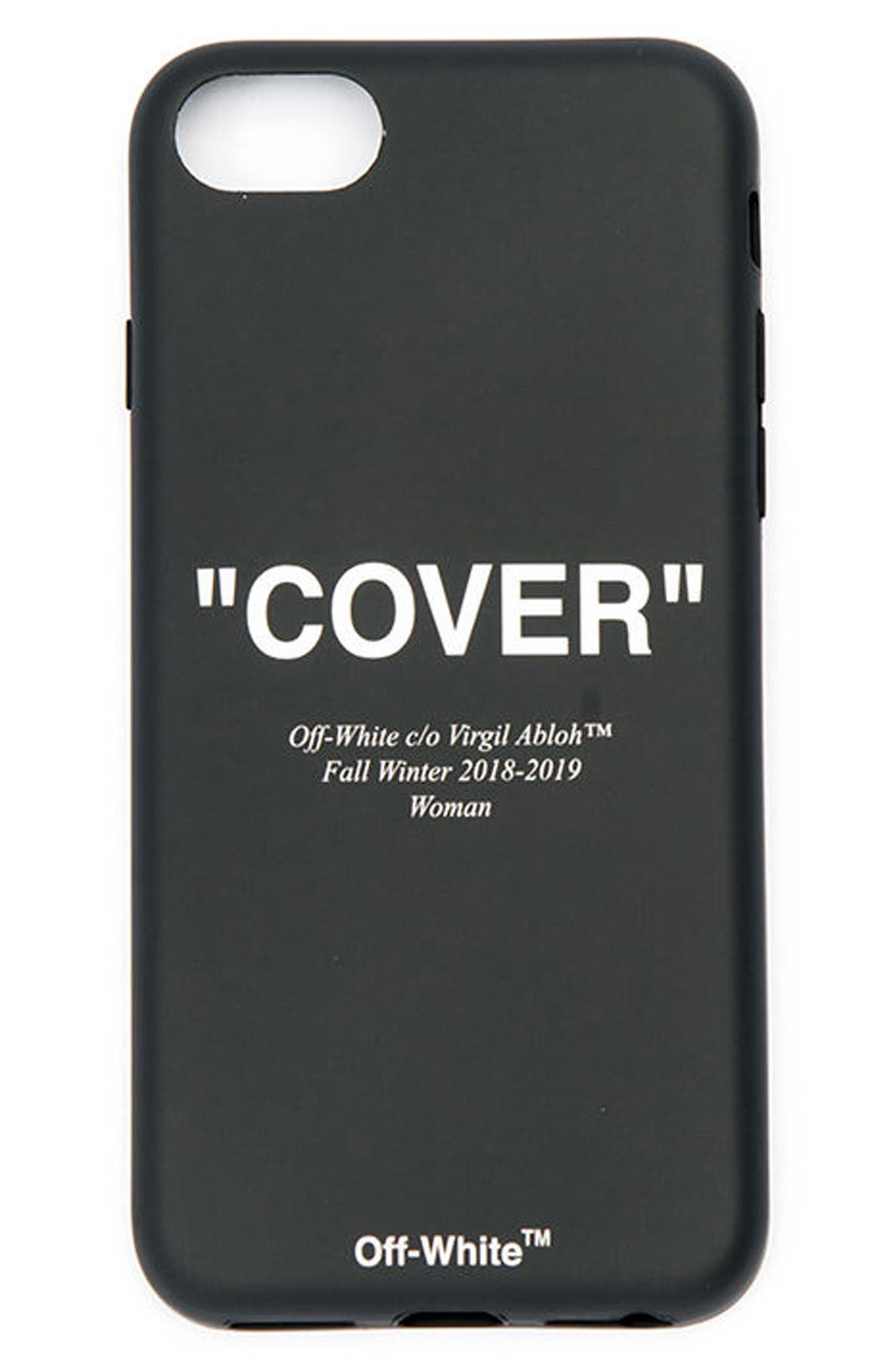 Off-White Quotes iPhone X Case