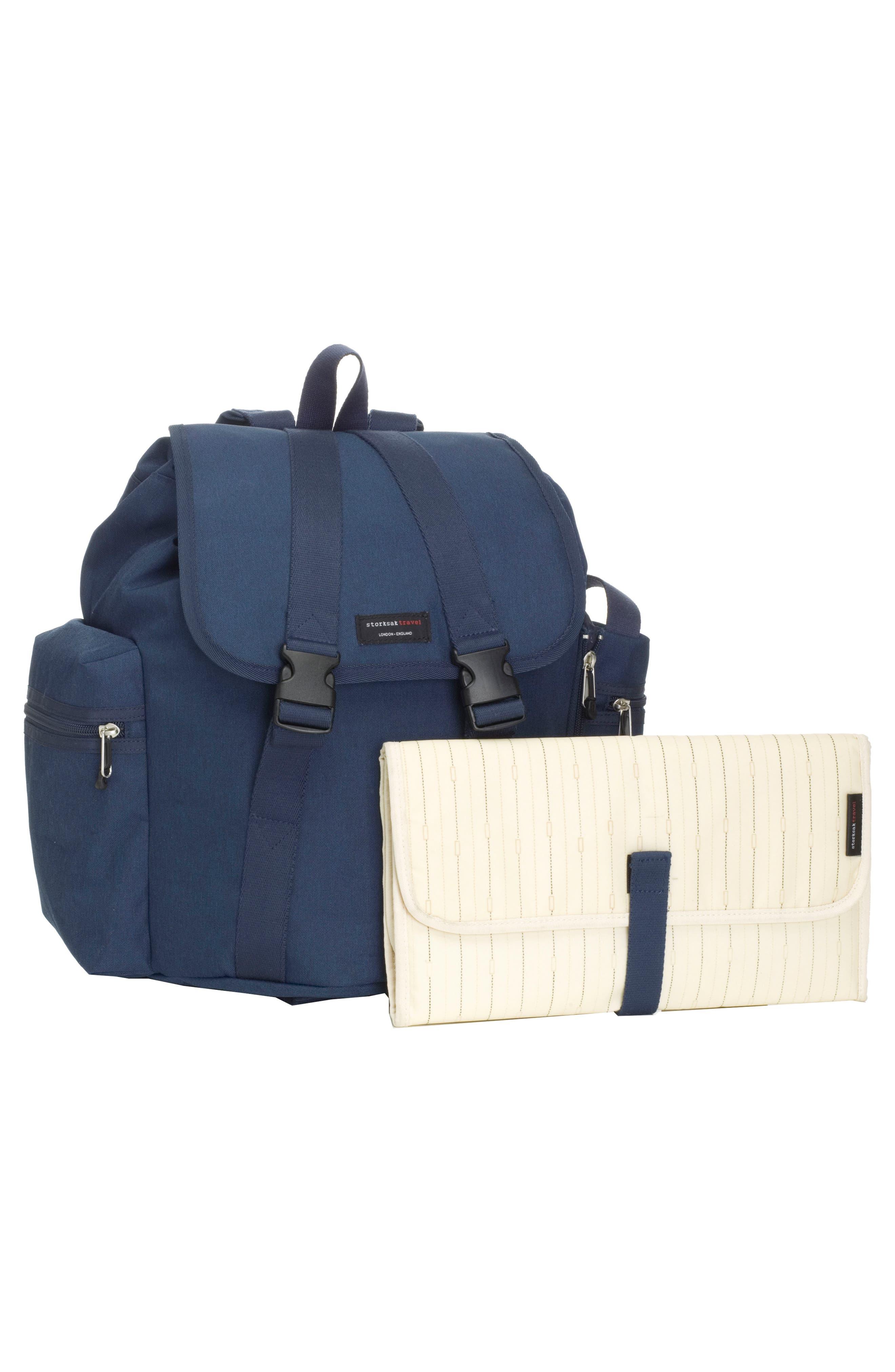 Travel Backpack Diaper Bag,                             Alternate thumbnail 2, color,                             Navy