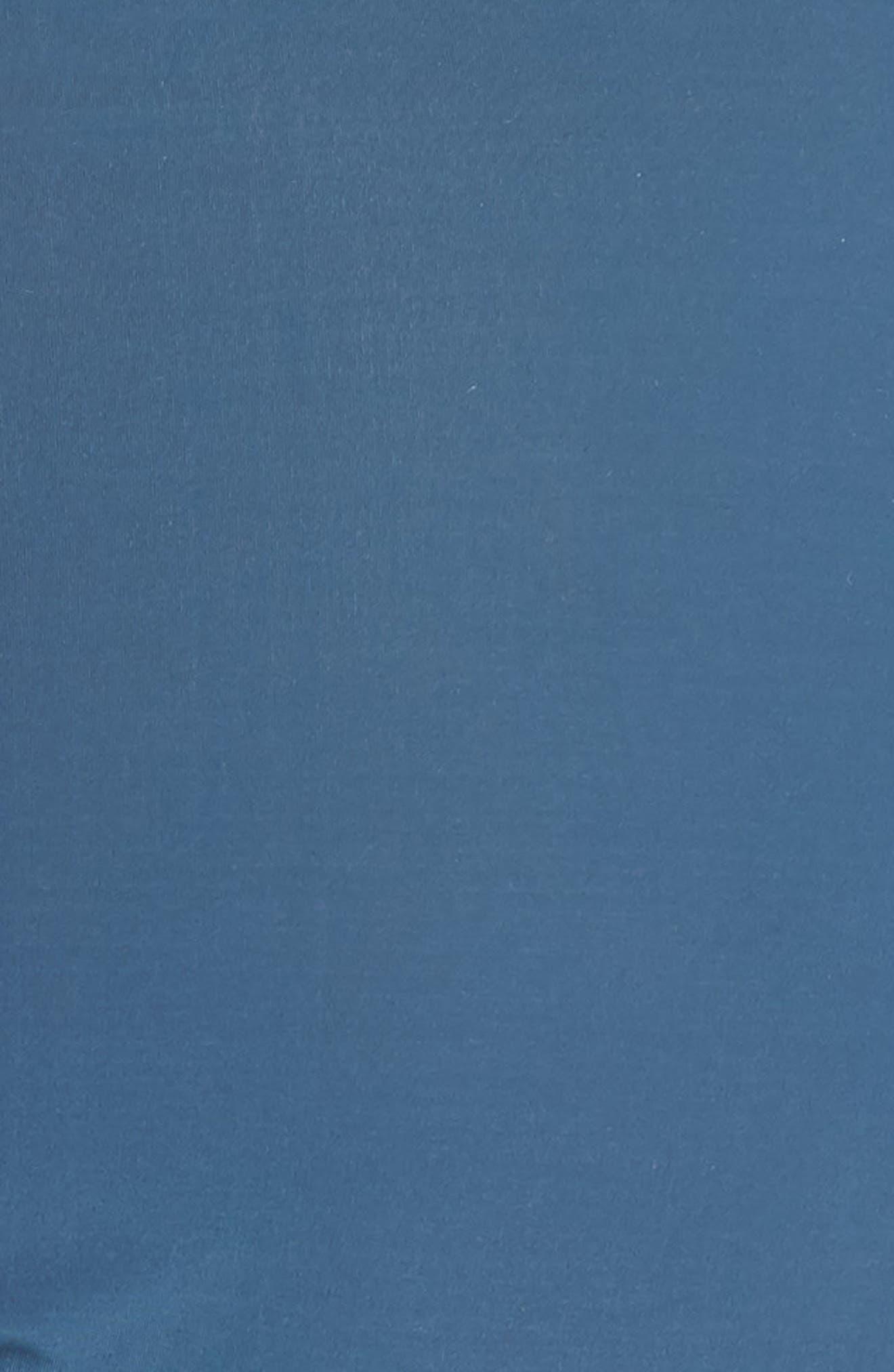 Mesh Trim Bikini,                             Alternate thumbnail 7, color,                             Blue Hematite