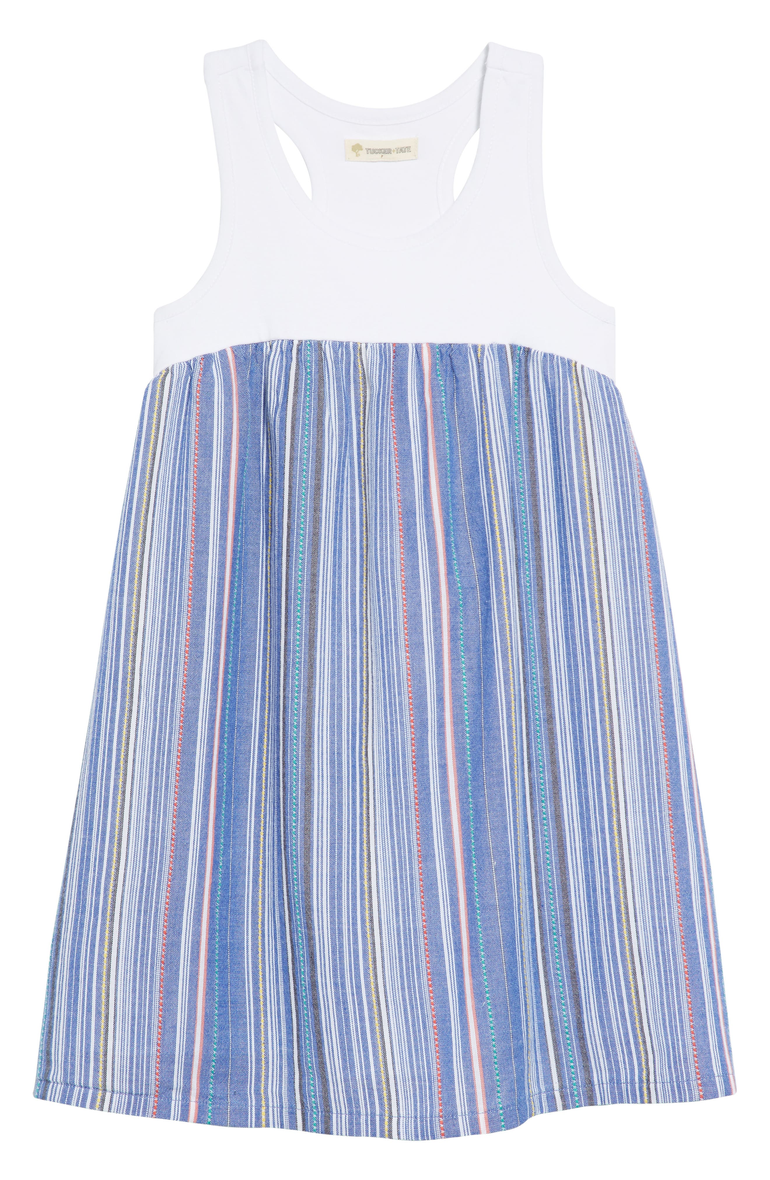Tucker + Tate Racerback Tank Dress (Toddler Girls, Little Girls & Big Girls)